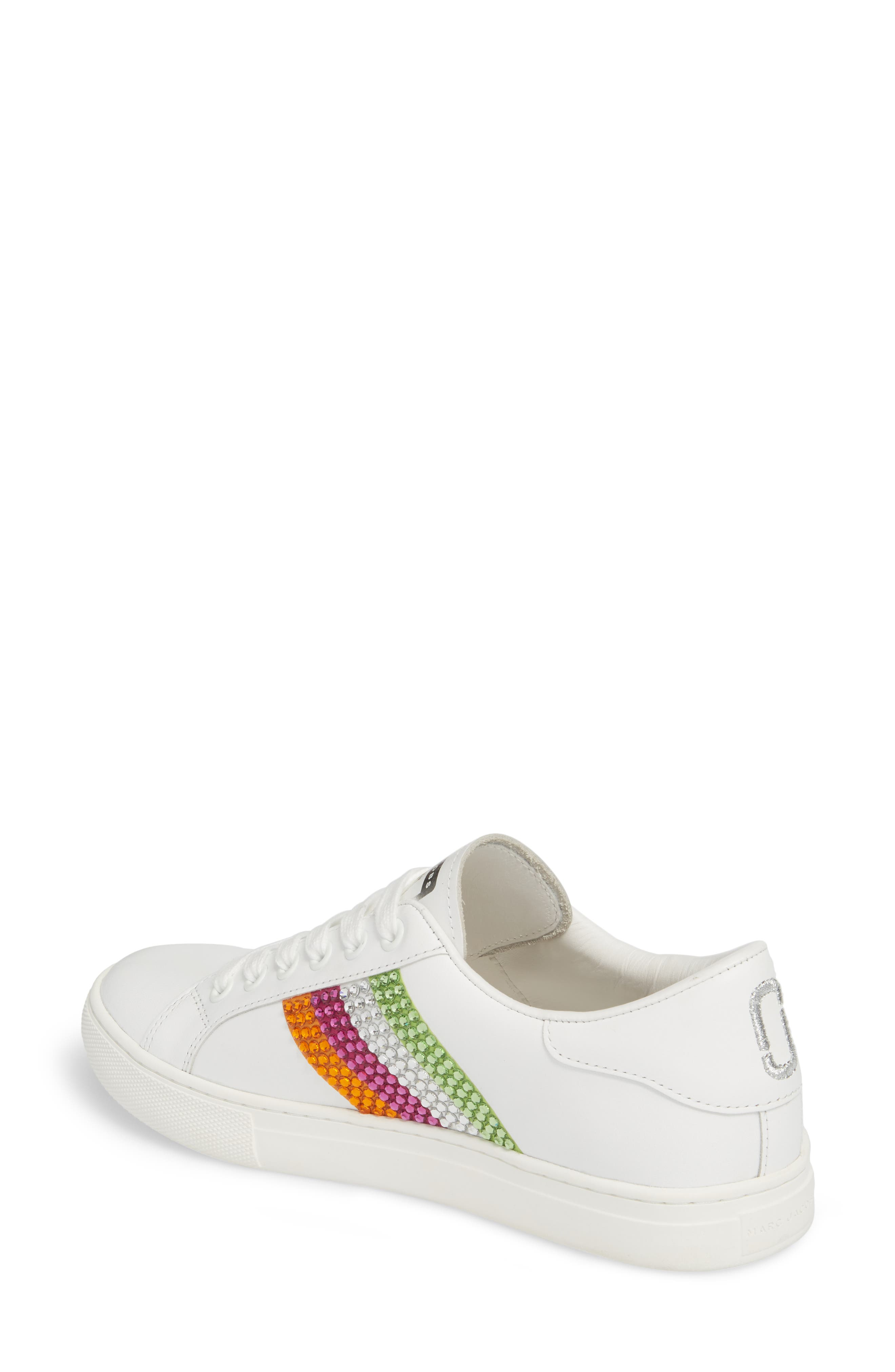 Alternate Image 2  - MARC JACOBS Empire Crystal Embellished Sneaker (Women)