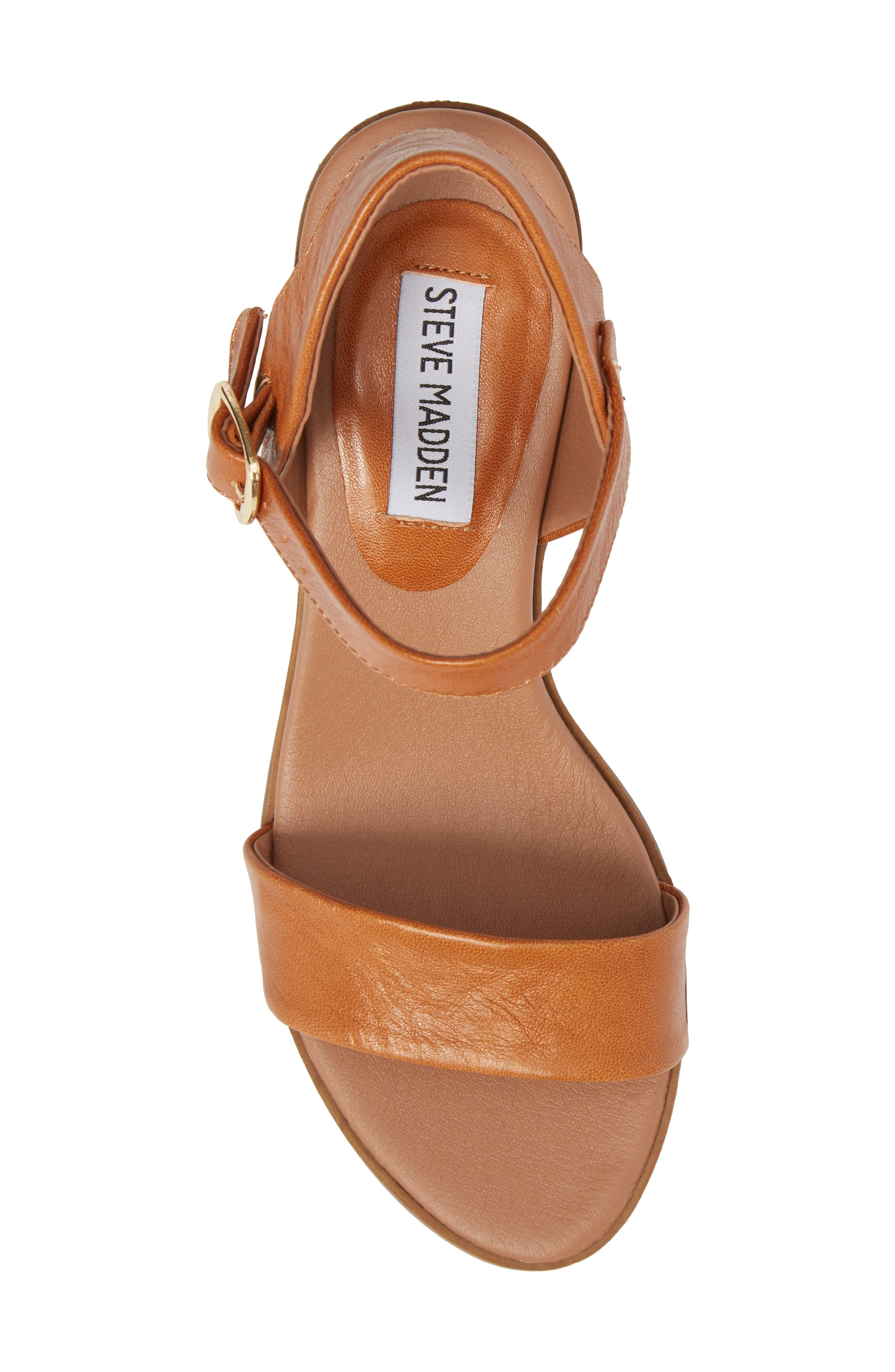 Alternate Image 5  - Steve Madden April Block Heel Sandal (Women)