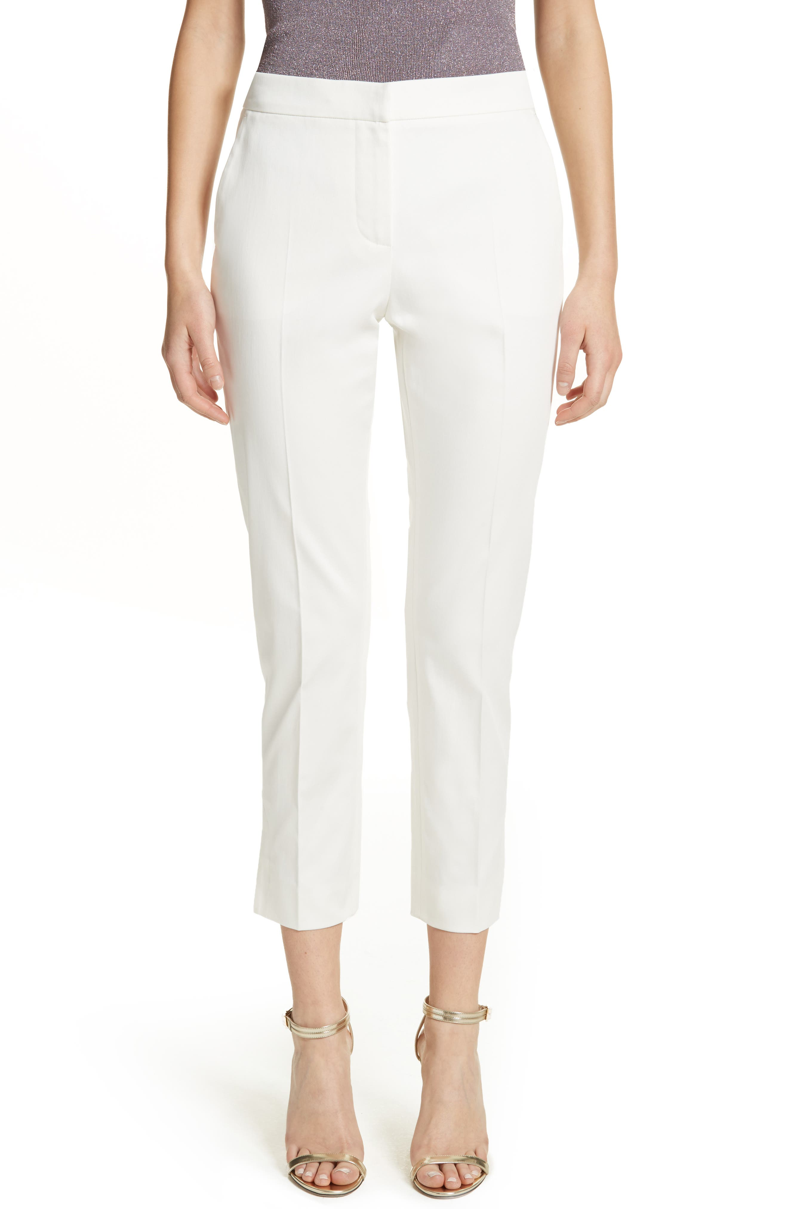 Ivory Trousers for Women