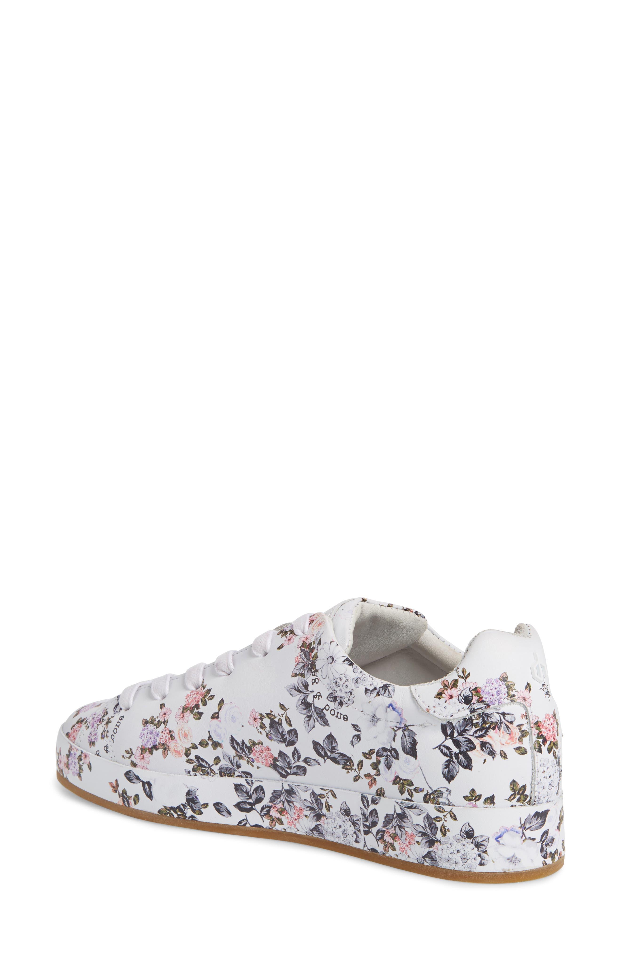 RB1 Low-Top Sneaker,                             Alternate thumbnail 2, color,                             Garden Florl