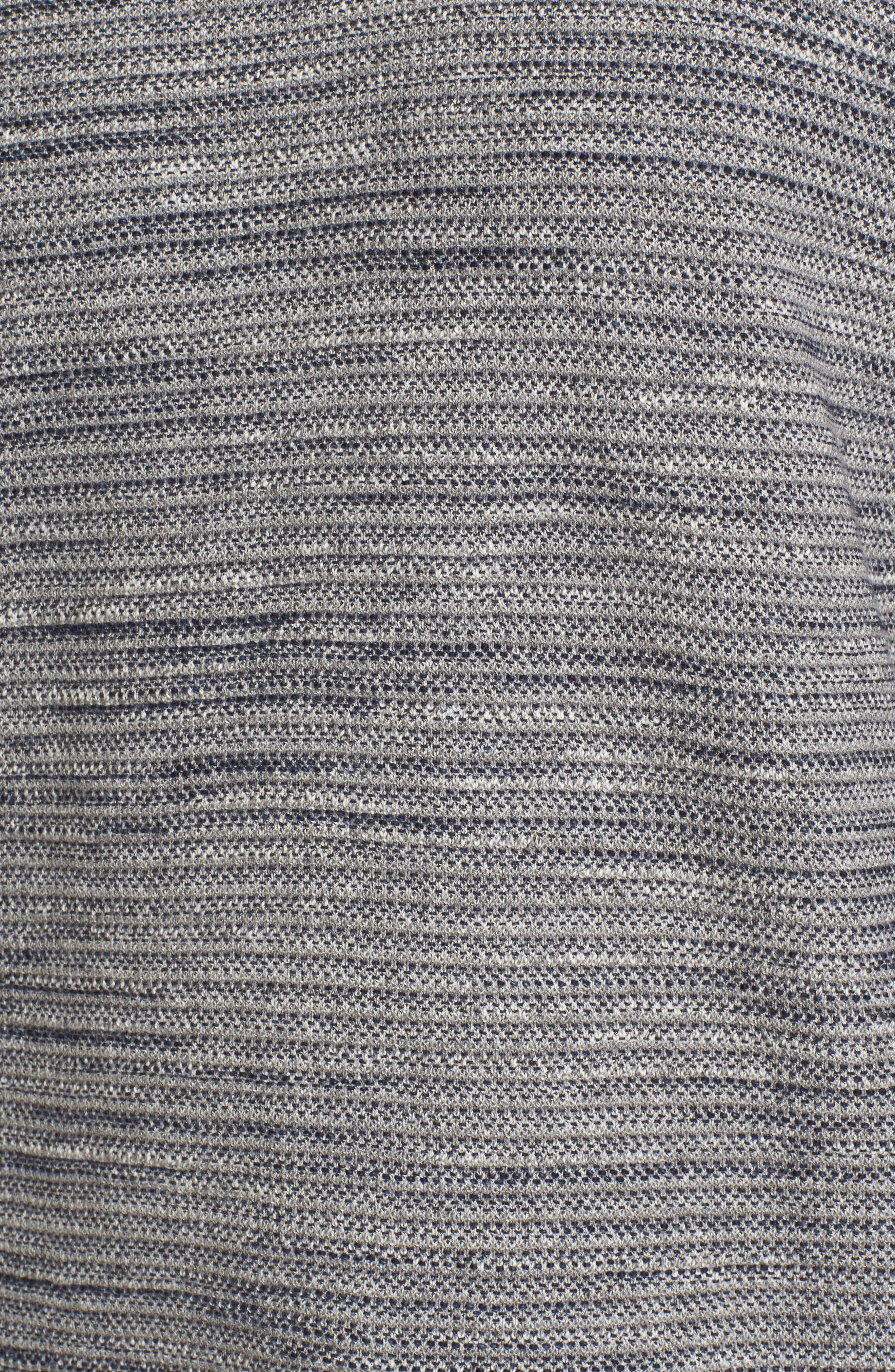 Alternate Image 5  - Grayers Bird's Eye Cotton Jacquard Sweater