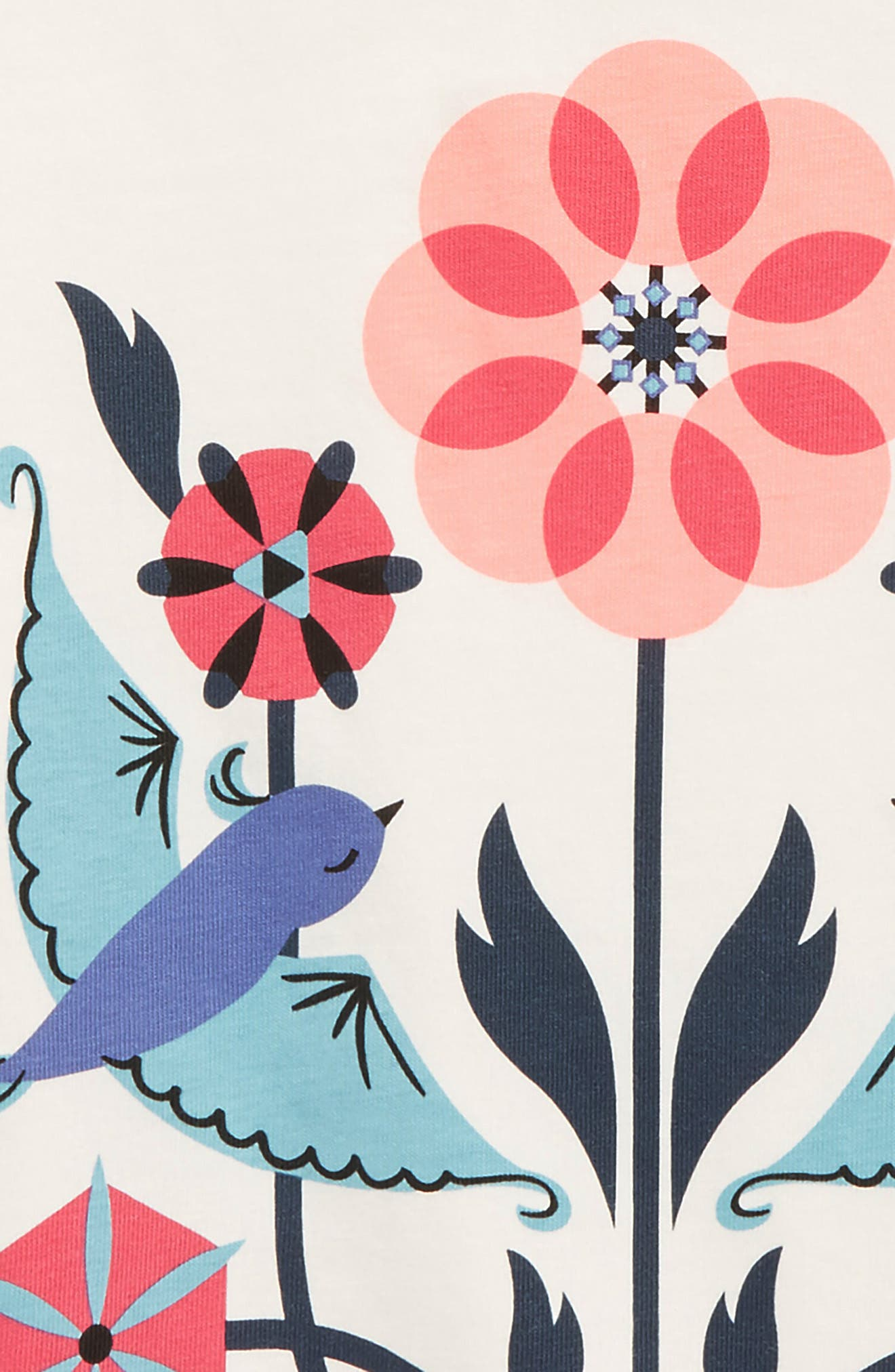 Lovebirds Graphic Tee,                             Alternate thumbnail 2, color,                             Chalk