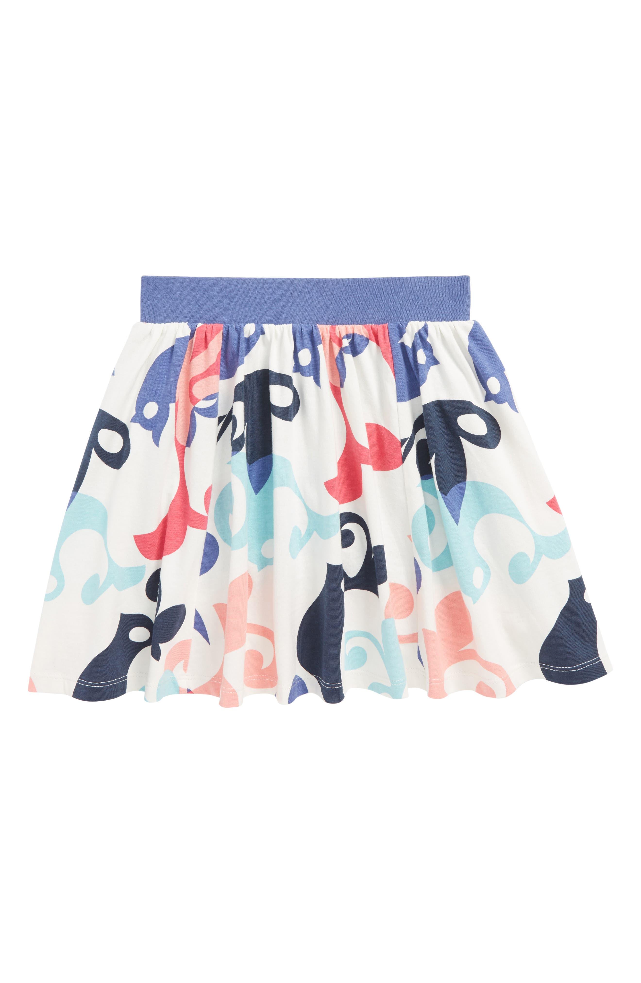 Tea Collection Tweet Twirl Skort (Toddler Girls, Little Girls & Big Girls)