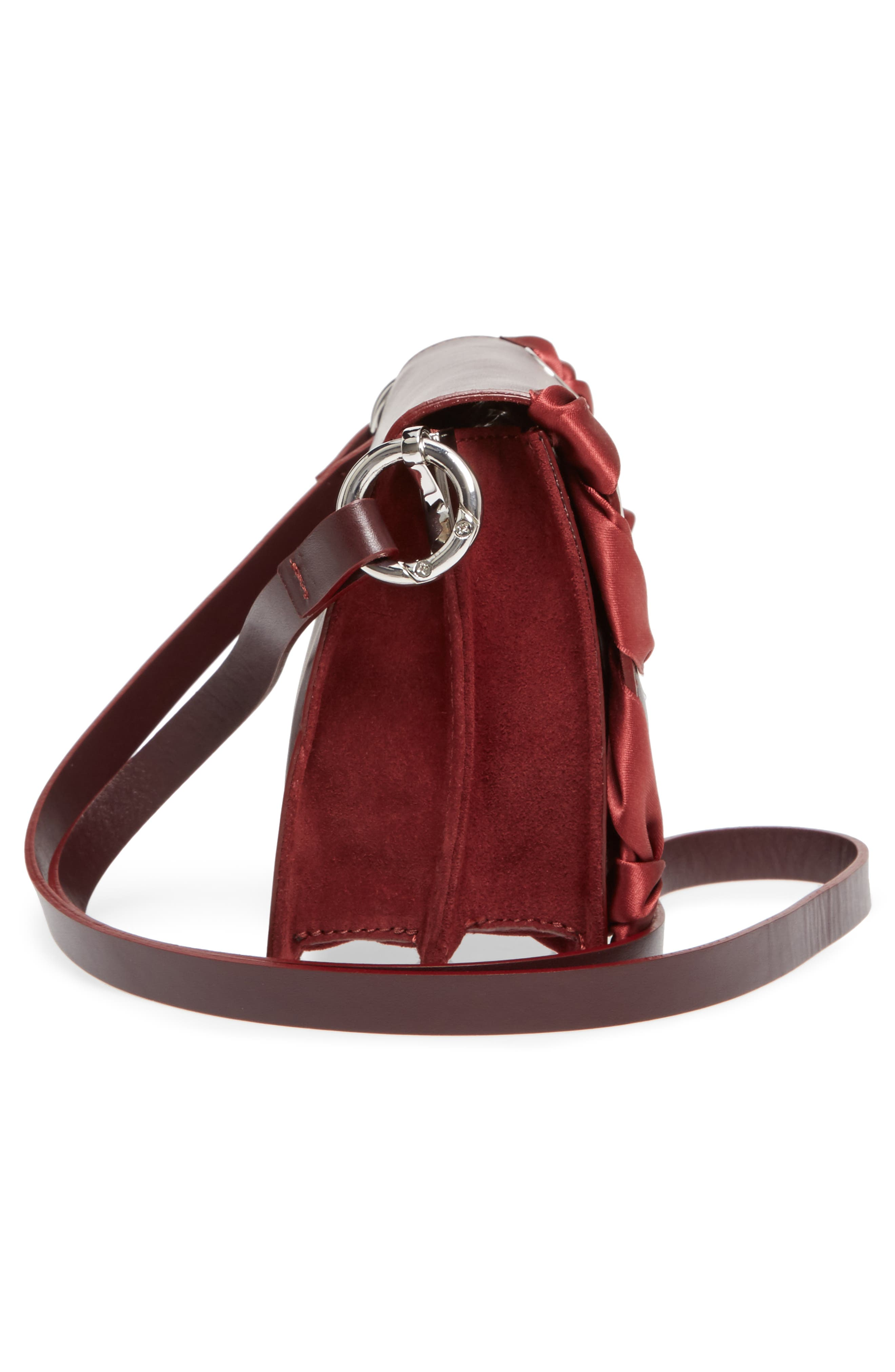 Alternate Image 4  - Topshop Premium Leather Grace Crossbody Bag