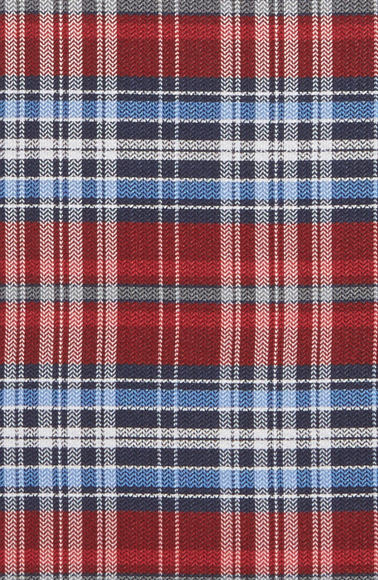 Alternate Image 3  - The Tie Bar Motley Plaid Silk Pocket Square