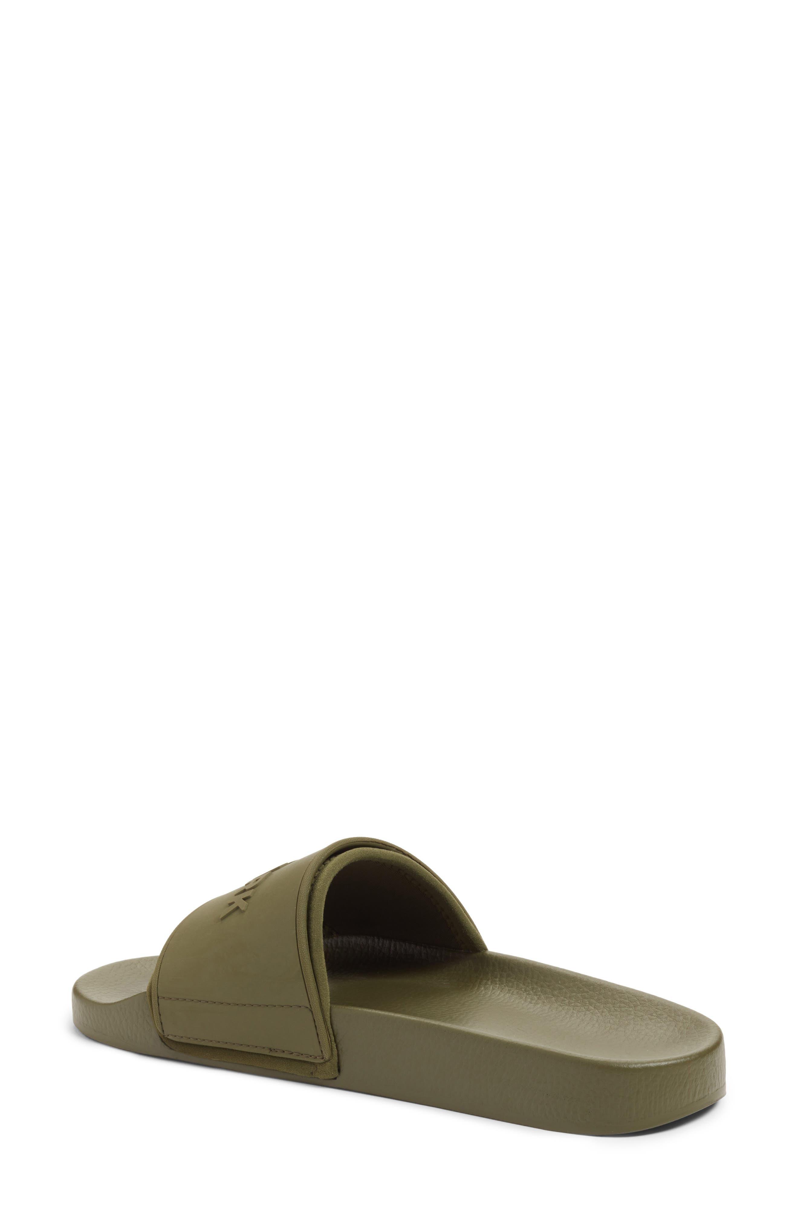 Alternate Image 2  - IVY PARK® Embossed Logo Sock Slide Sandal (Women)