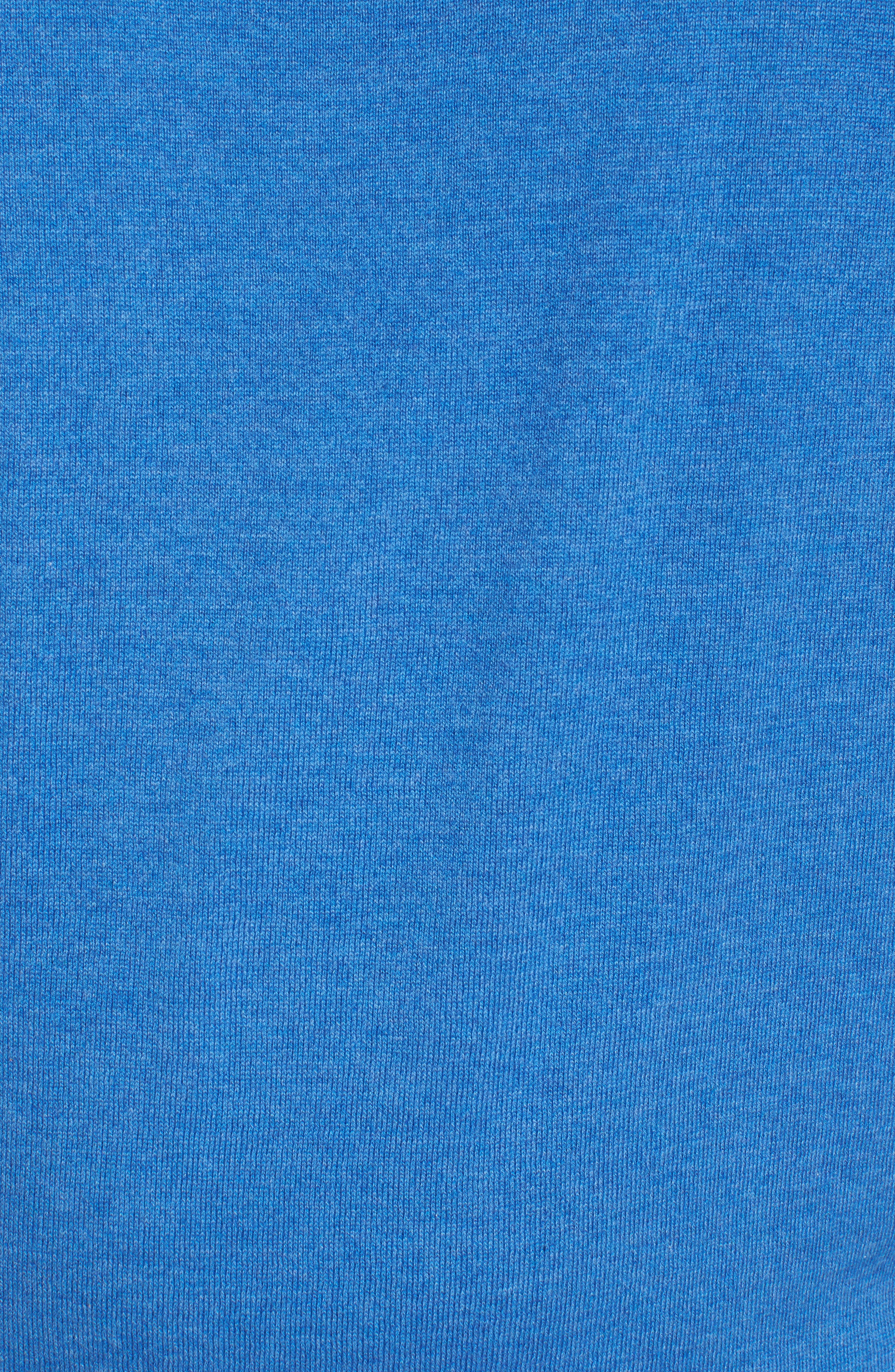 Crown Soft Quarter-Zip Pullover,                             Alternate thumbnail 5, color,                             Boardwalk Blue