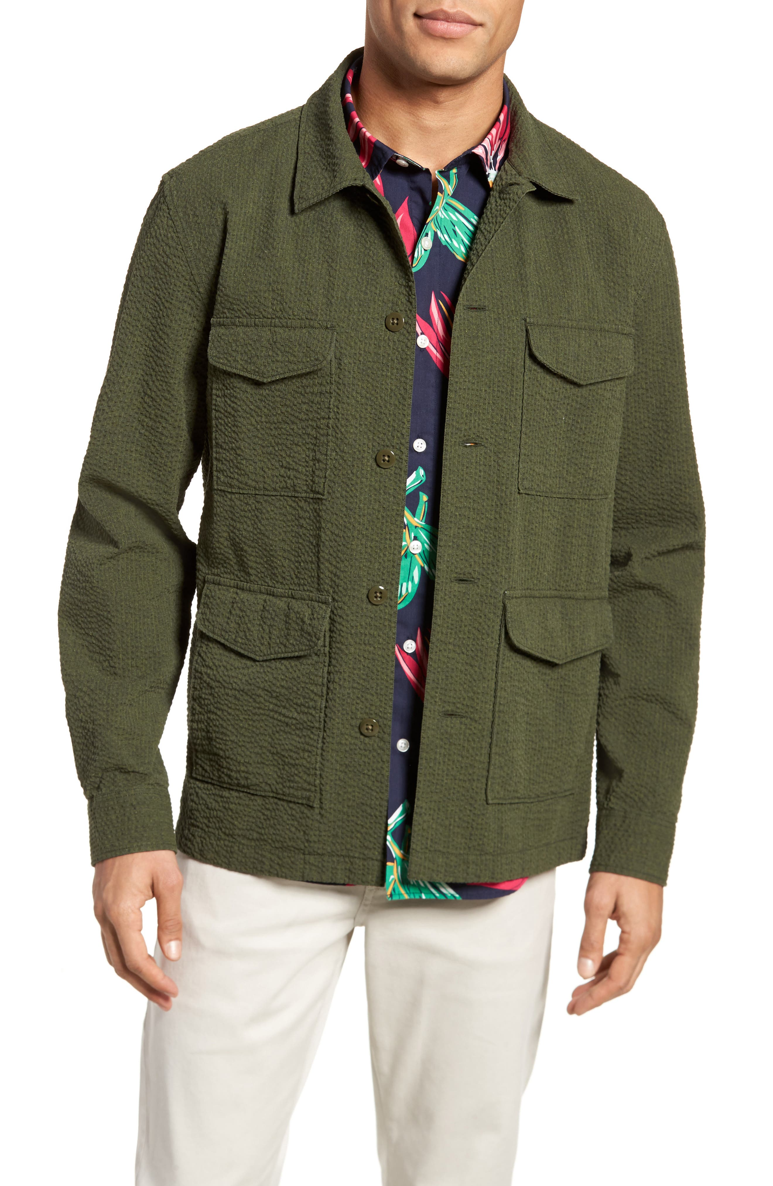 Alternate Image 1 Selected - Bonobos Seersucker Military Jacket