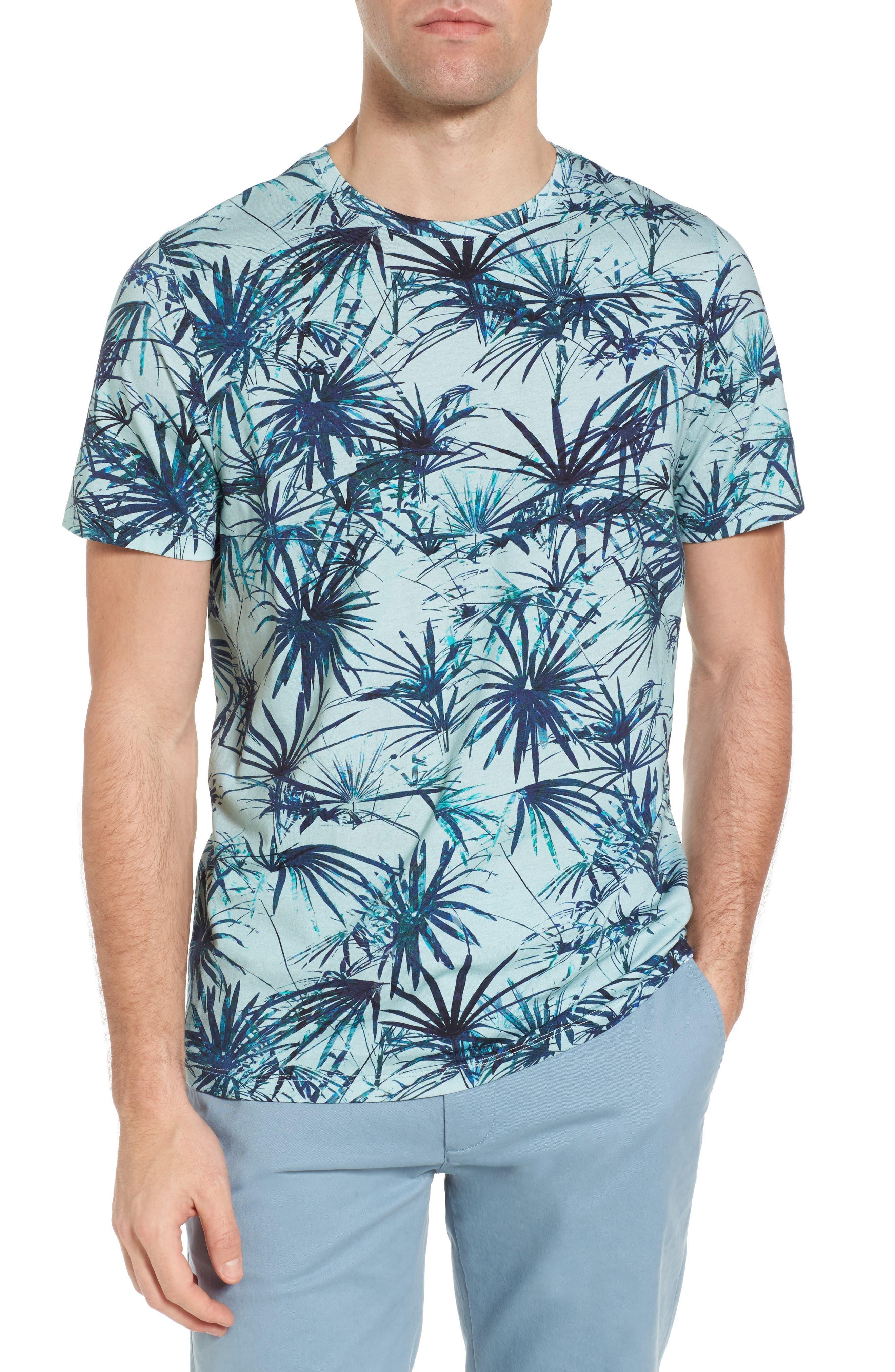 Yorkii Crewneck T-Shirt,                         Main,                         color, Light Green