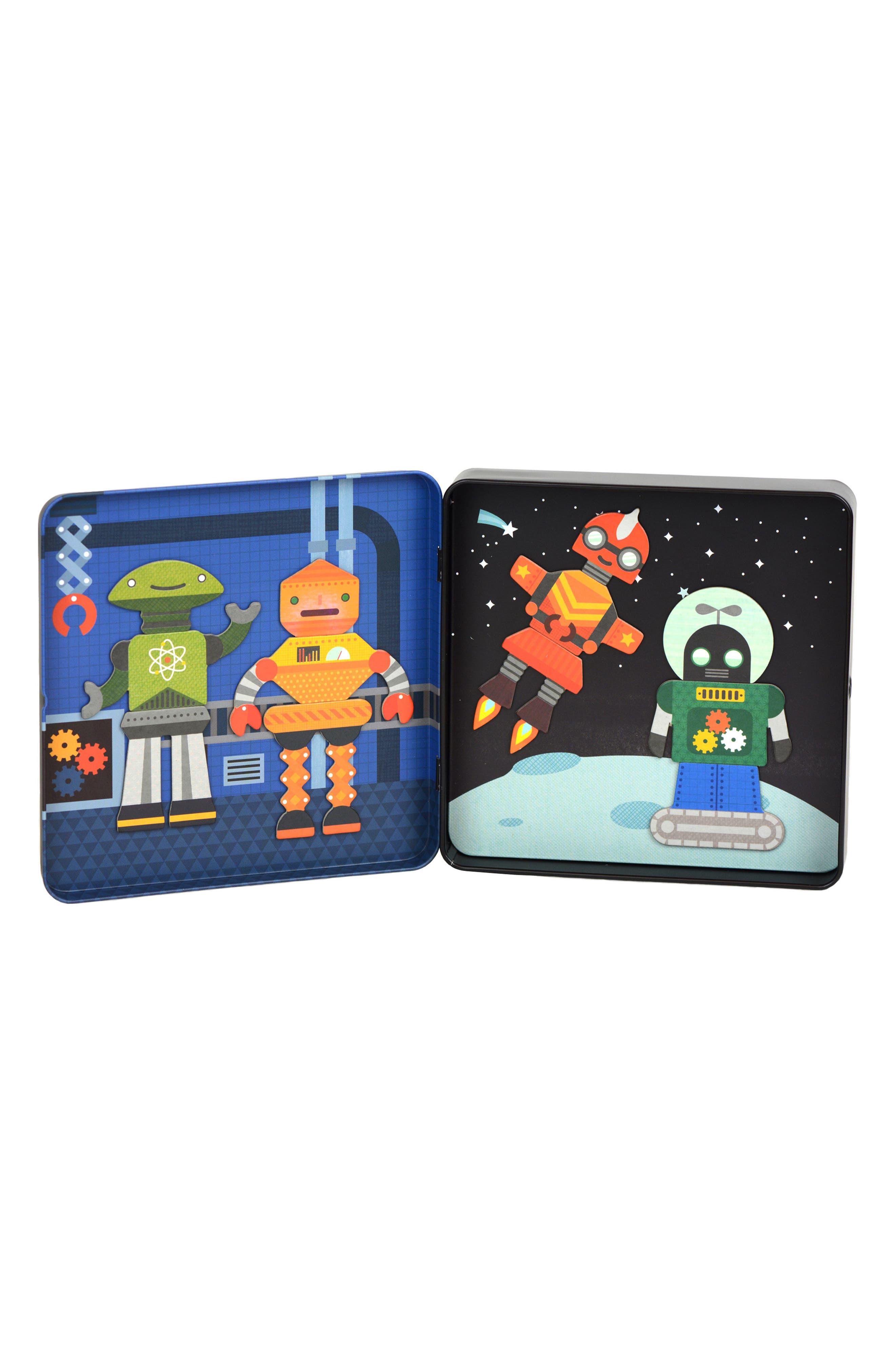 Robot Remix On-the-Go Magnetic Play Set,                             Alternate thumbnail 2, color,                             Black