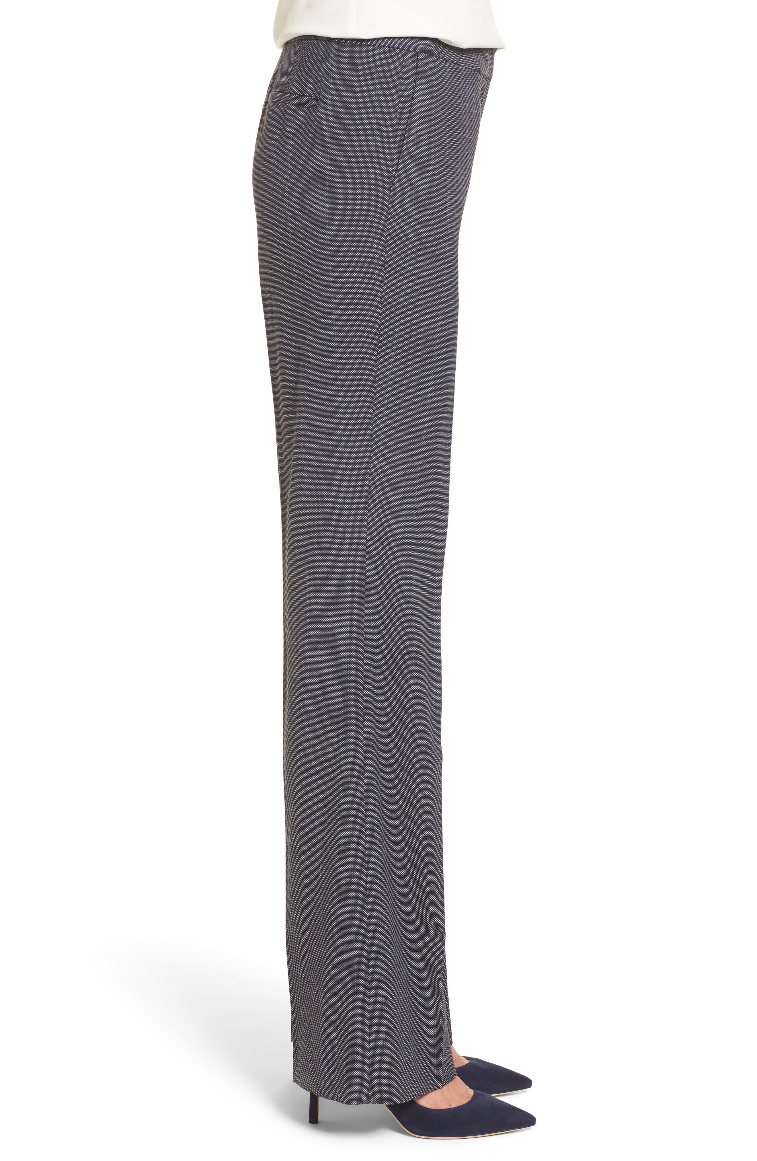 Cross Dye Suit Pants,                             Alternate thumbnail 3, color,                             Navy Crossdye Pattern