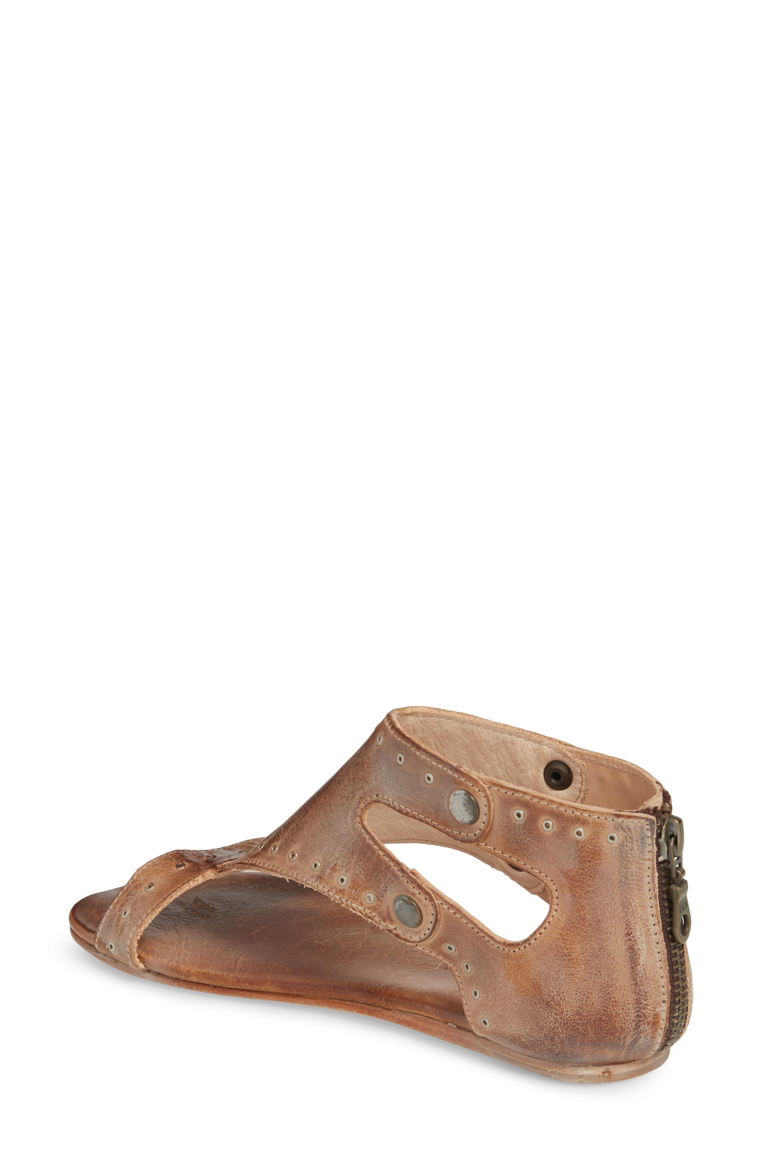 Soto G V-Strap Sandal,                             Alternate thumbnail 2, color,                             Tan Mason Leather