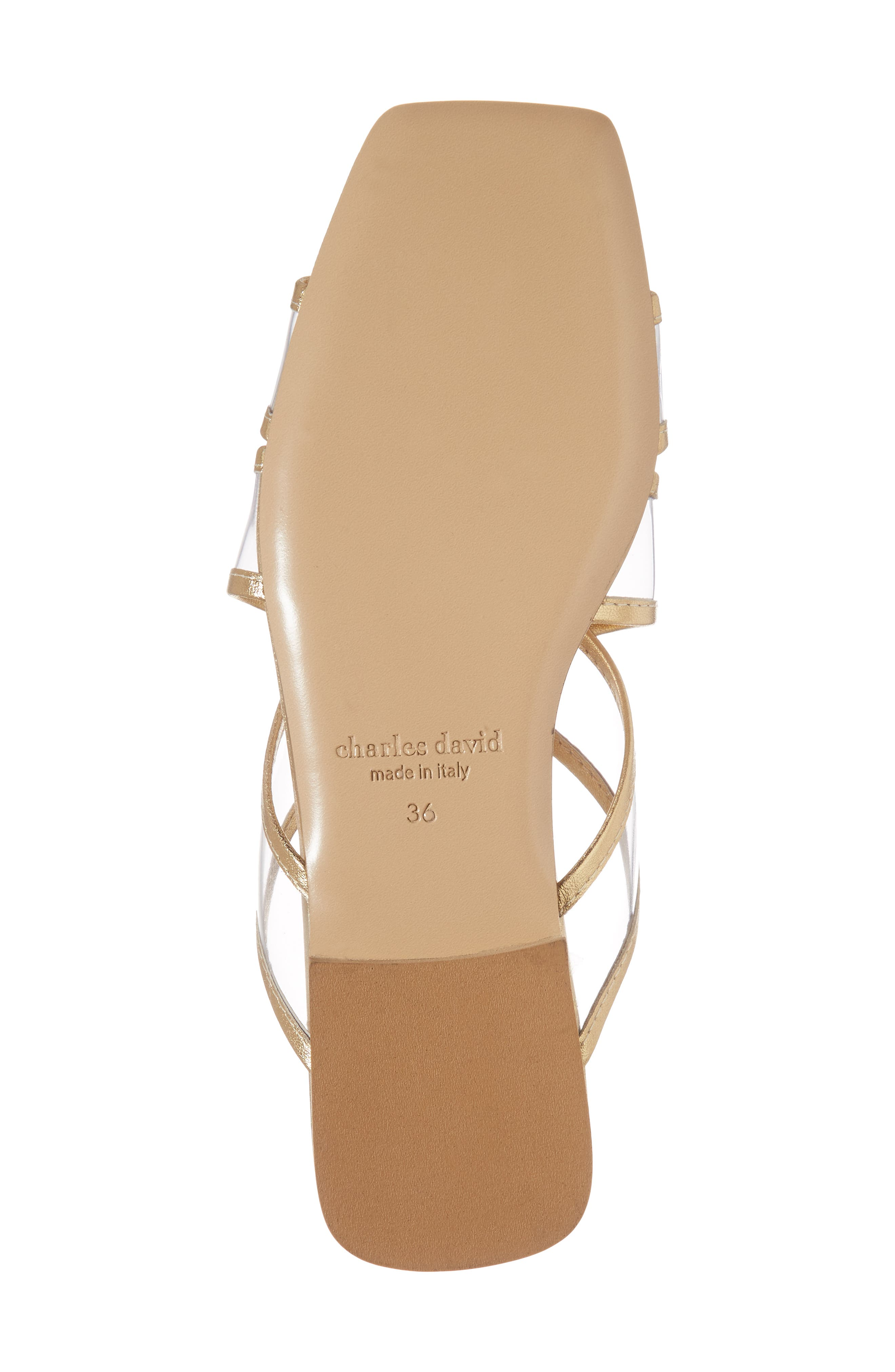 Alternate Image 6  - Charles David Drea Transparent Strap Slide Sandal (Women)
