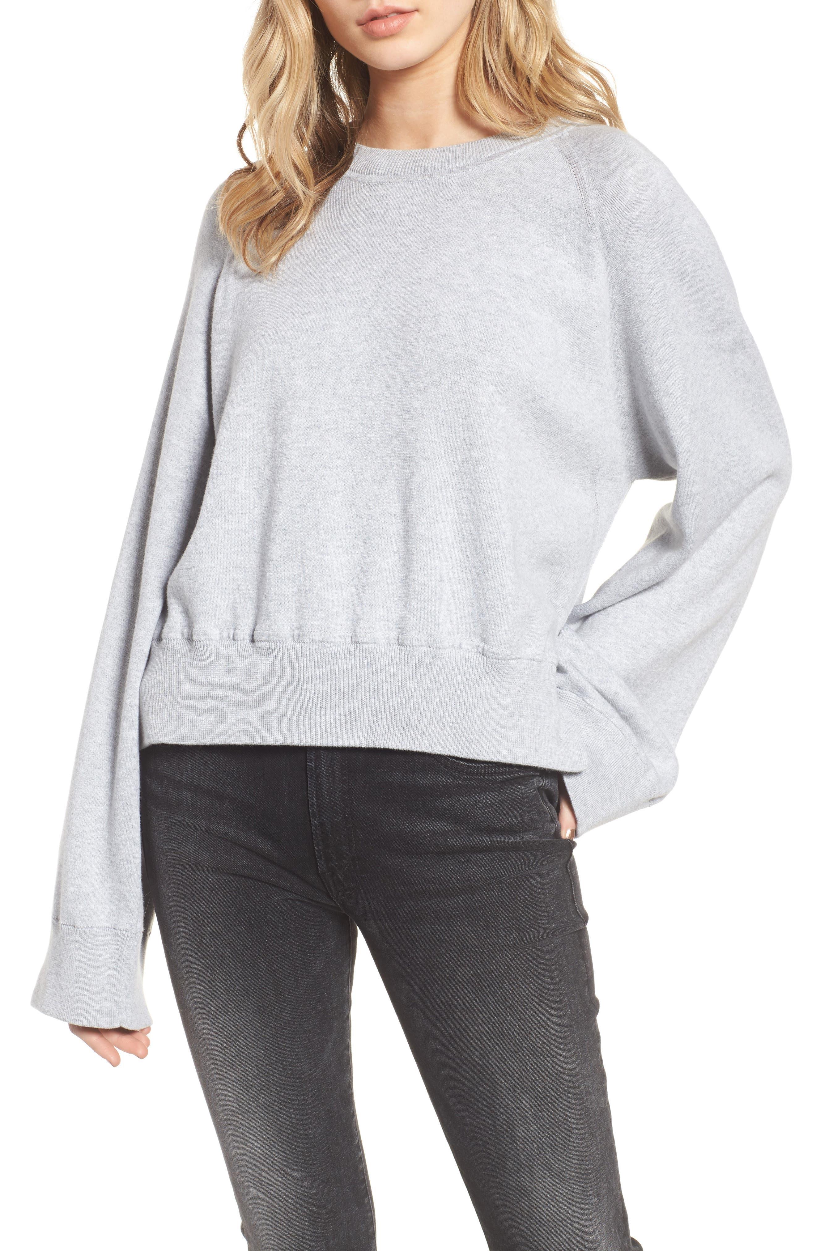 Lea Sweatshirt,                         Main,                         color, Grey