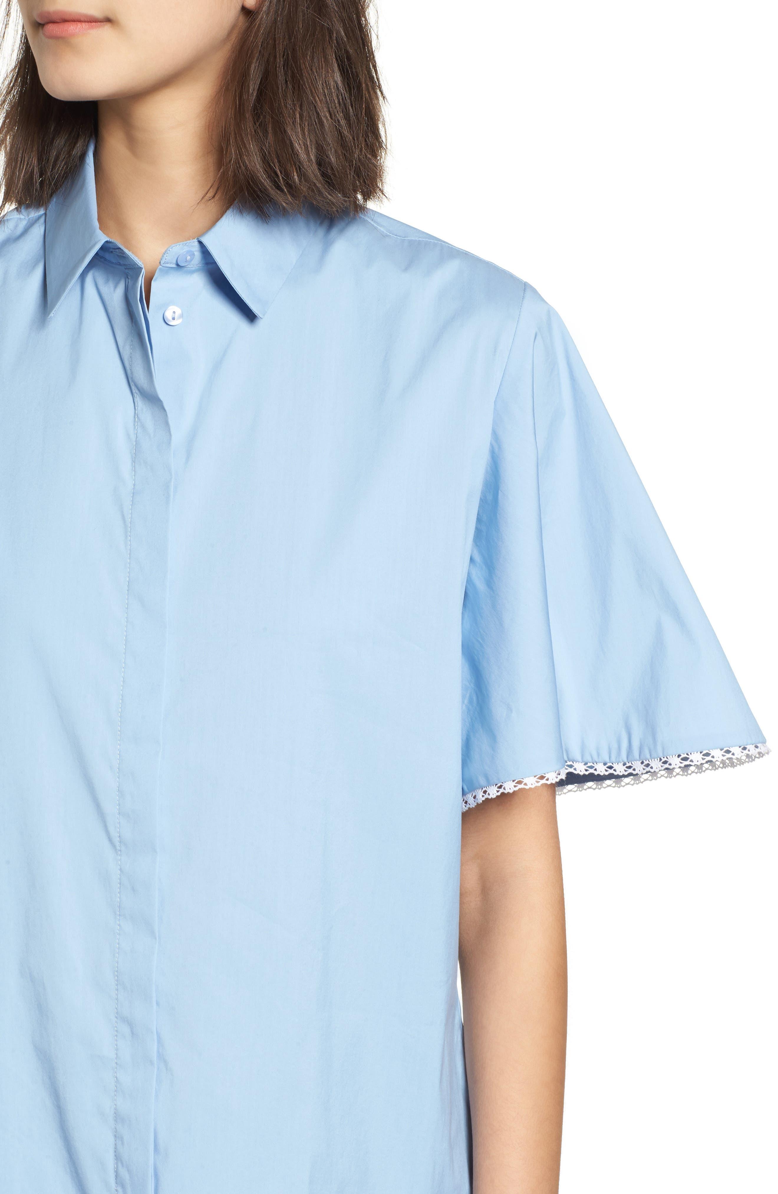 Baby Dress,                             Alternate thumbnail 4, color,                             Blue