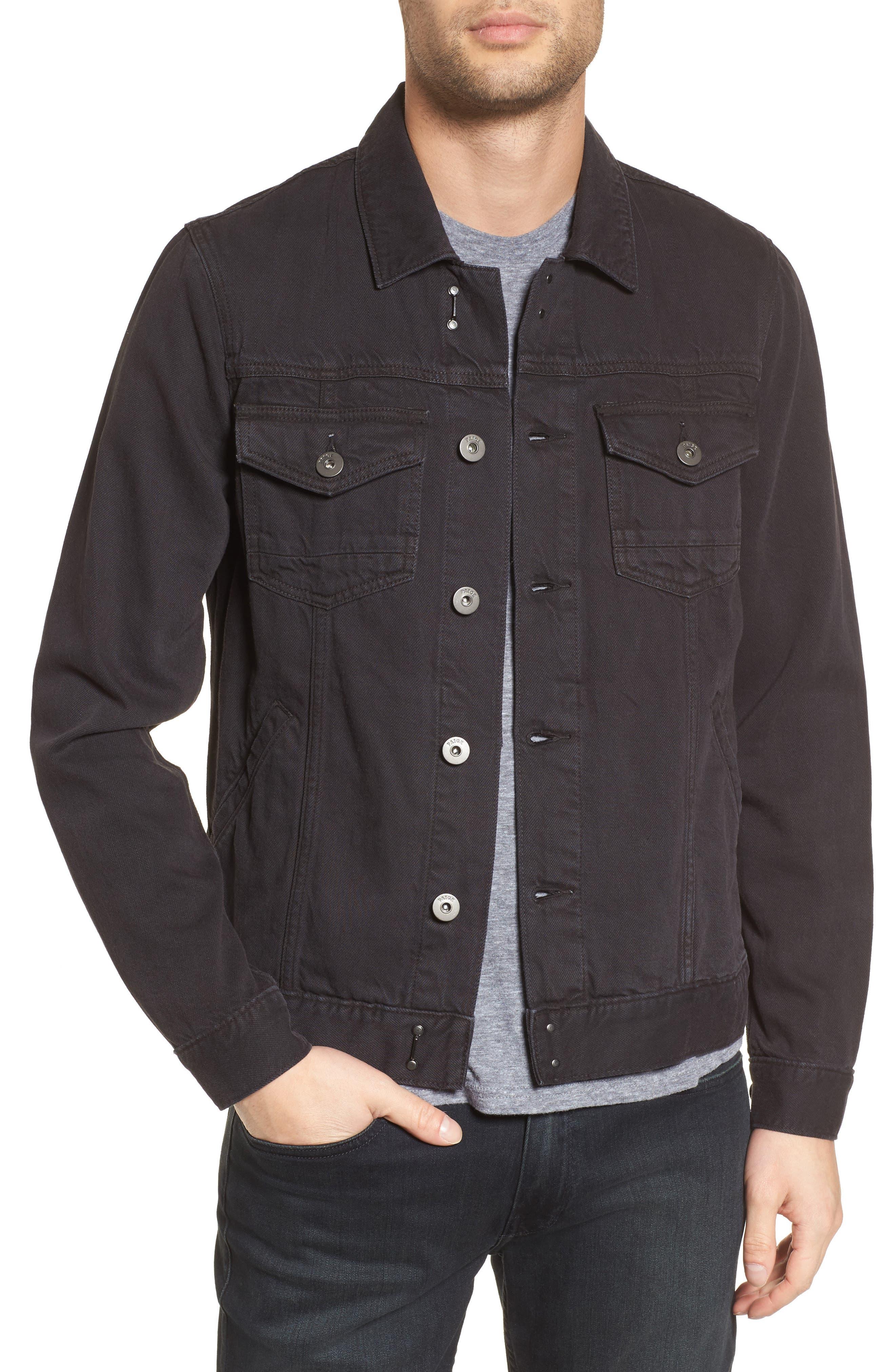 Scout Denim Jacket,                         Main,                         color, Vintage Raven