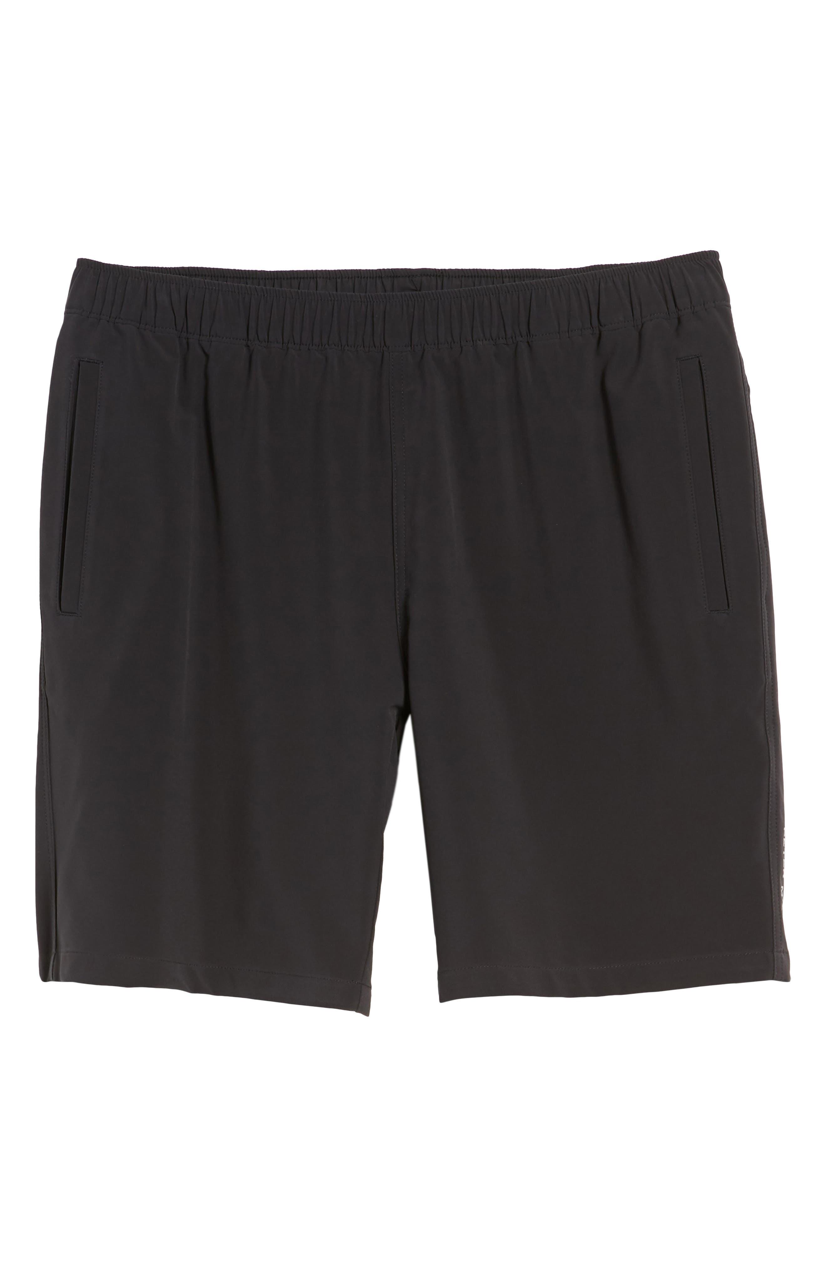 Oslo Sport Shorts,                             Alternate thumbnail 6, color,                             Black