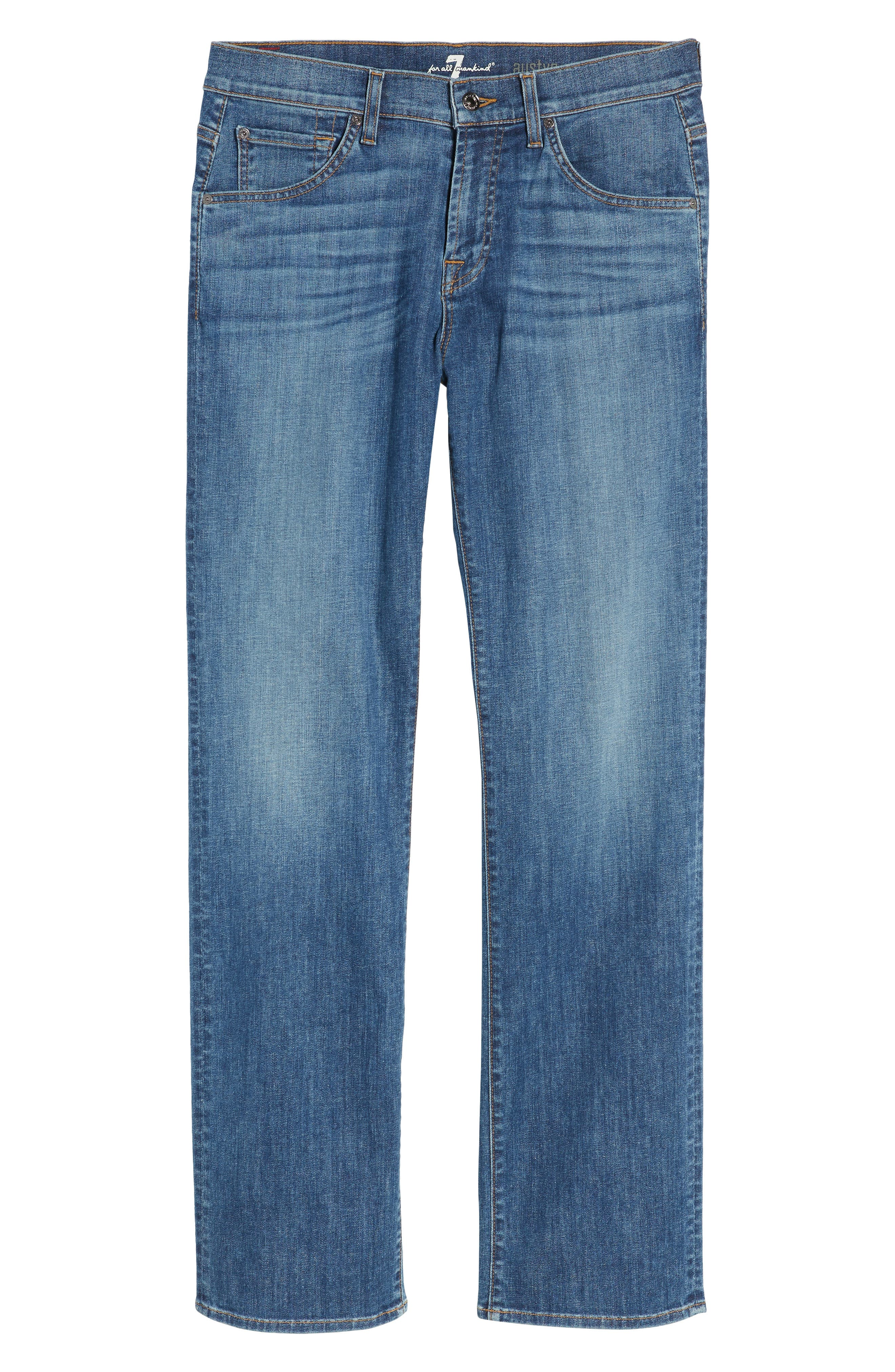 Austyn Relaxed Fit Jeans,                             Alternate thumbnail 6, color,                             East Sussex