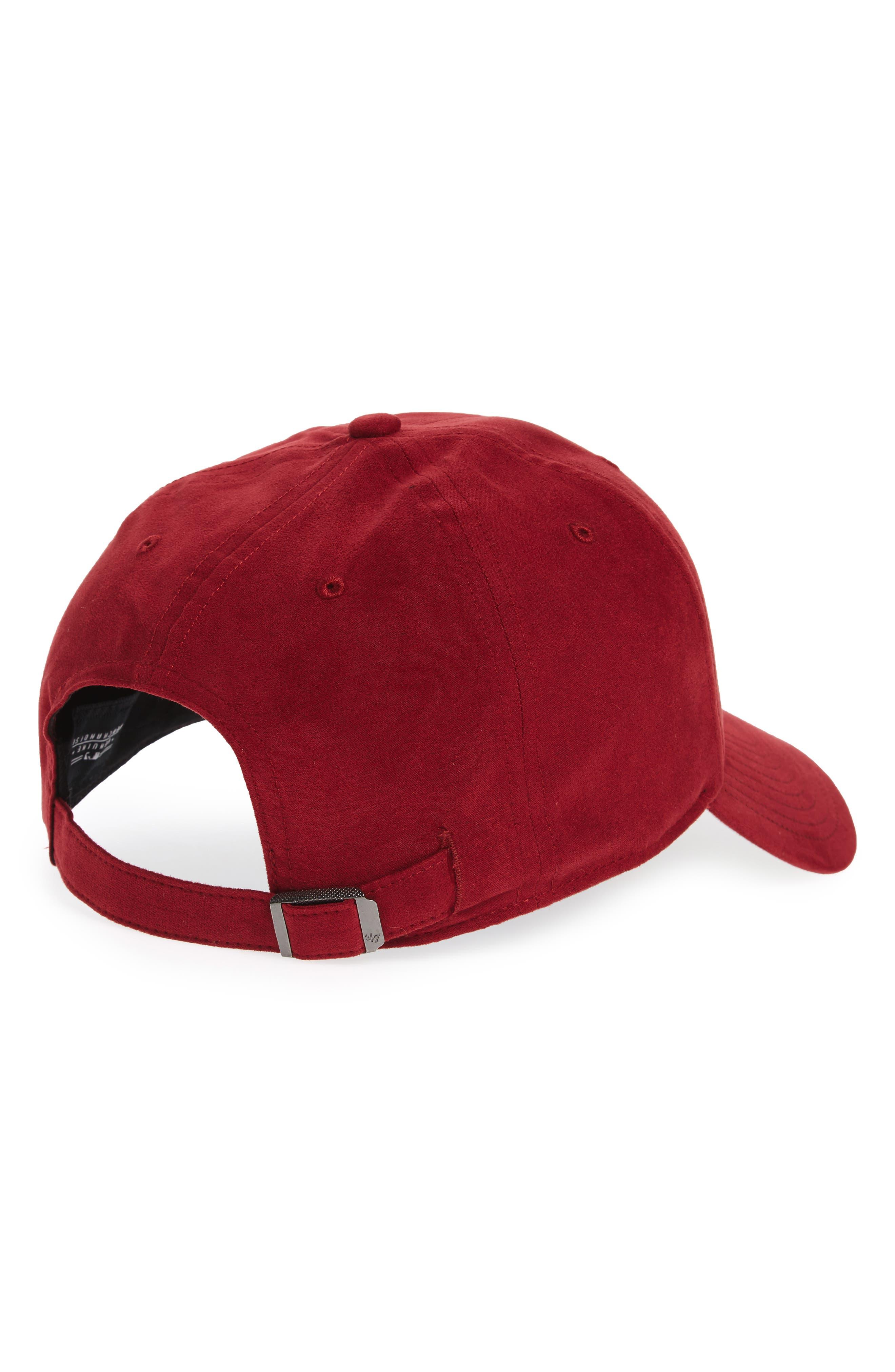 New York Yankees Baseball Cap,                             Alternate thumbnail 2, color,                             Maroon