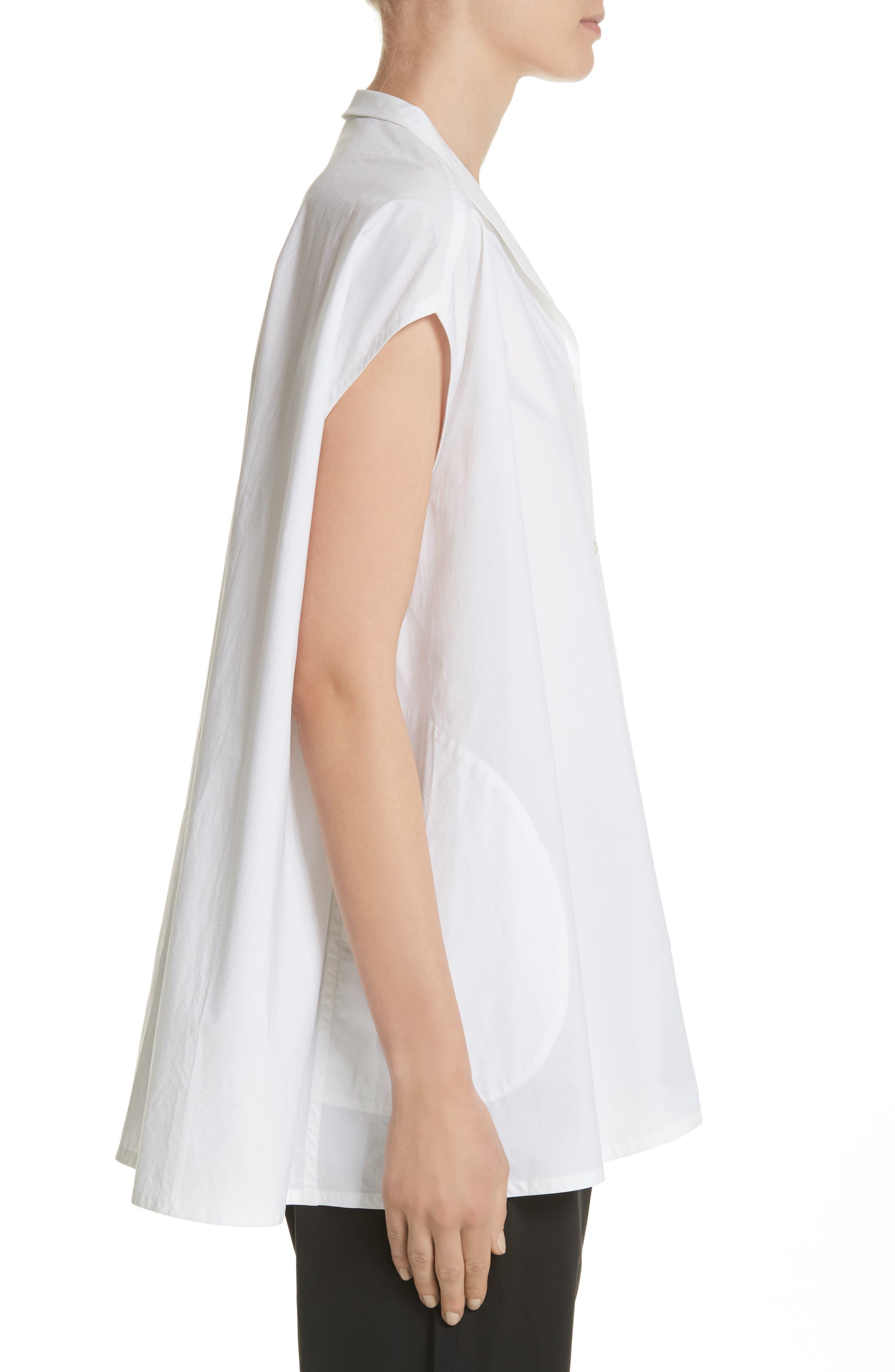 Alternate Image 3  - Sofie D'Hoore Sleeveless Cotton Blouse