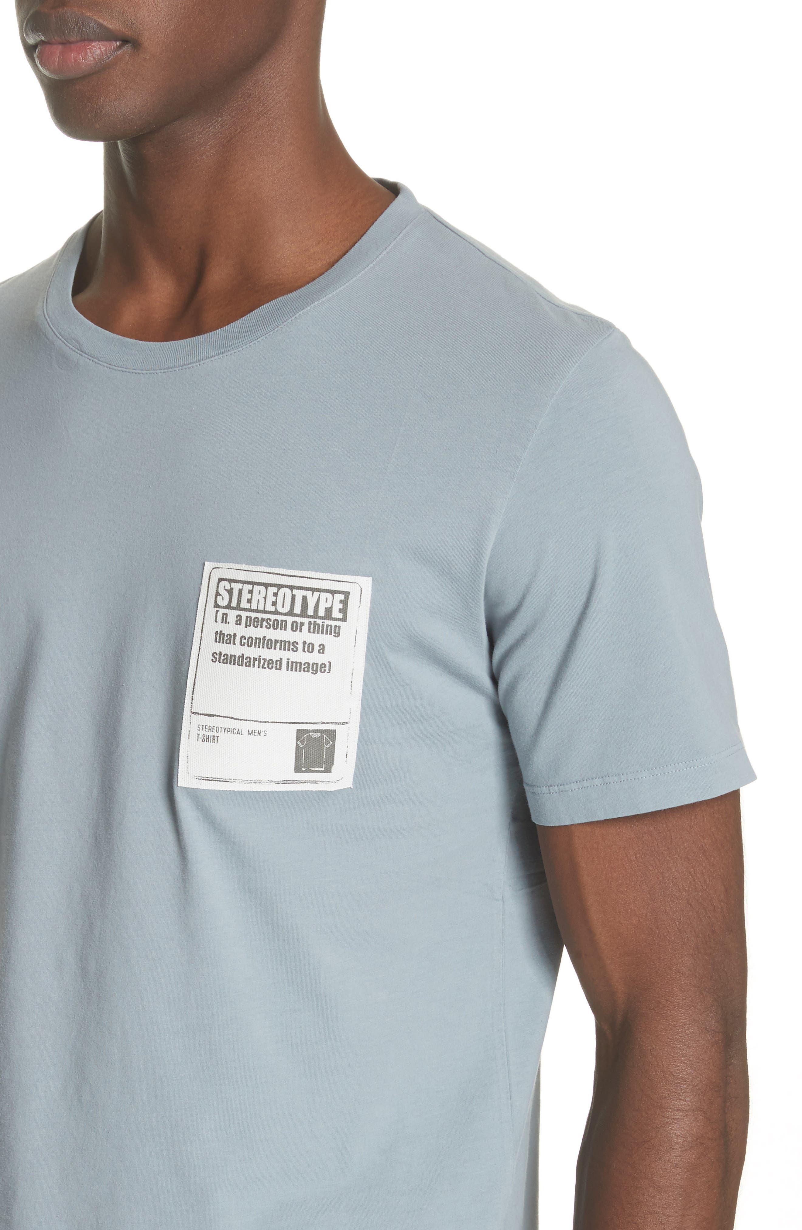 Stereotype Pocket T-Shirt,                             Alternate thumbnail 4, color,                             Grey