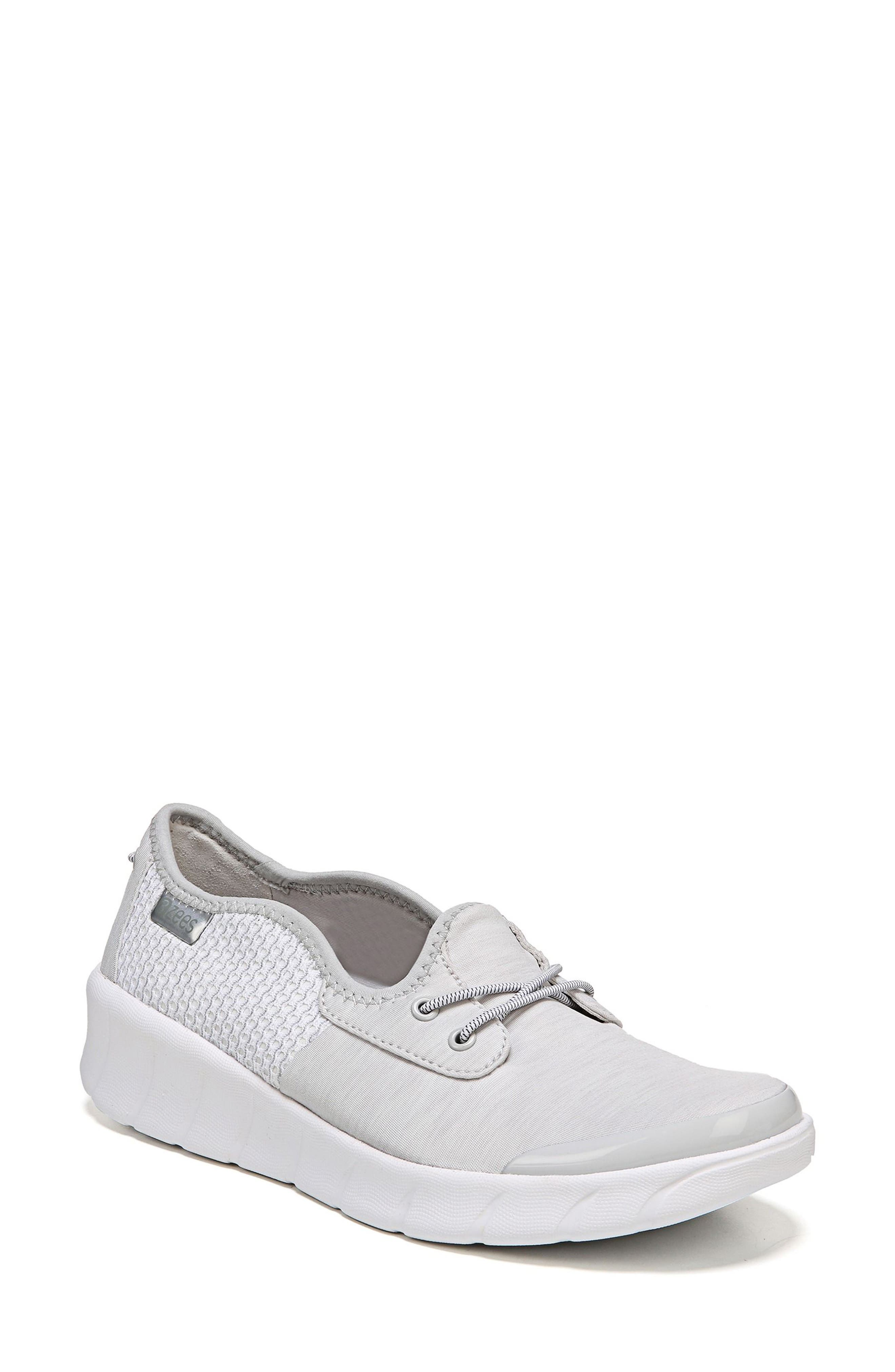 Oz Slip-On Sneaker,                             Main thumbnail 1, color,                             Grey Fabric