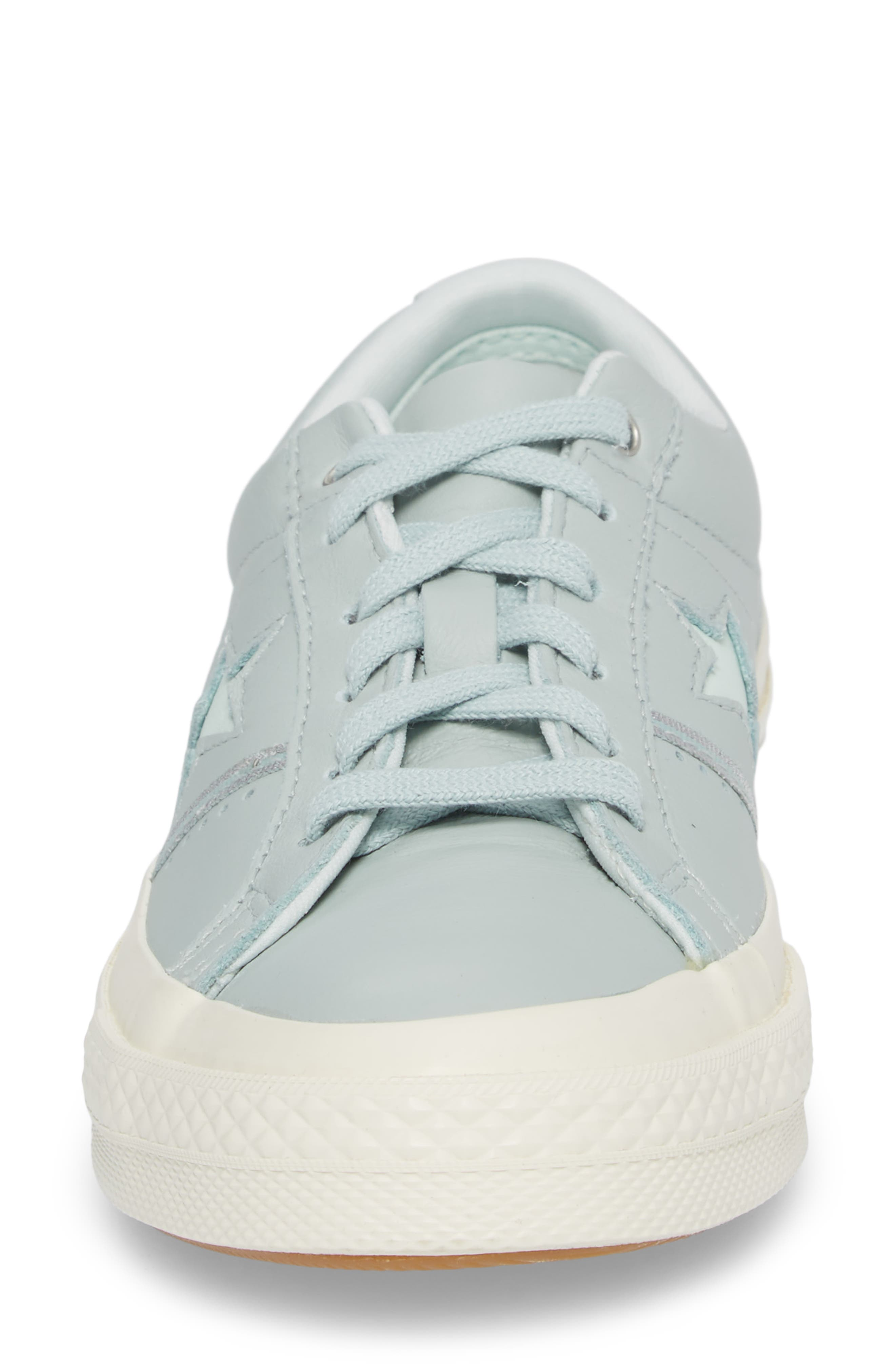 One Star Piping Sneaker,                             Alternate thumbnail 4, color,                             Dried Bamboo