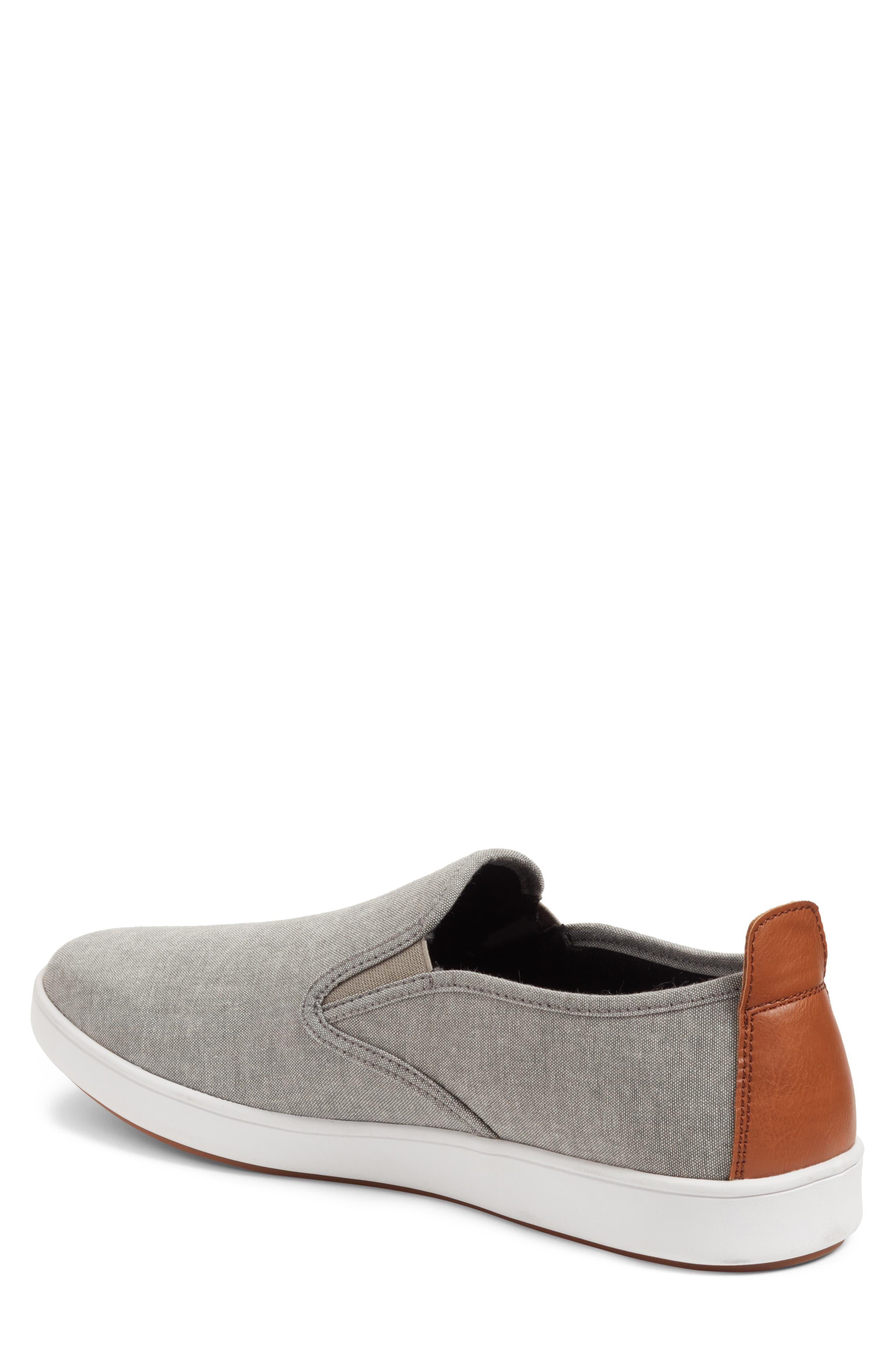 Felix Slip-On Sneaker,                             Alternate thumbnail 2, color,                             Grey