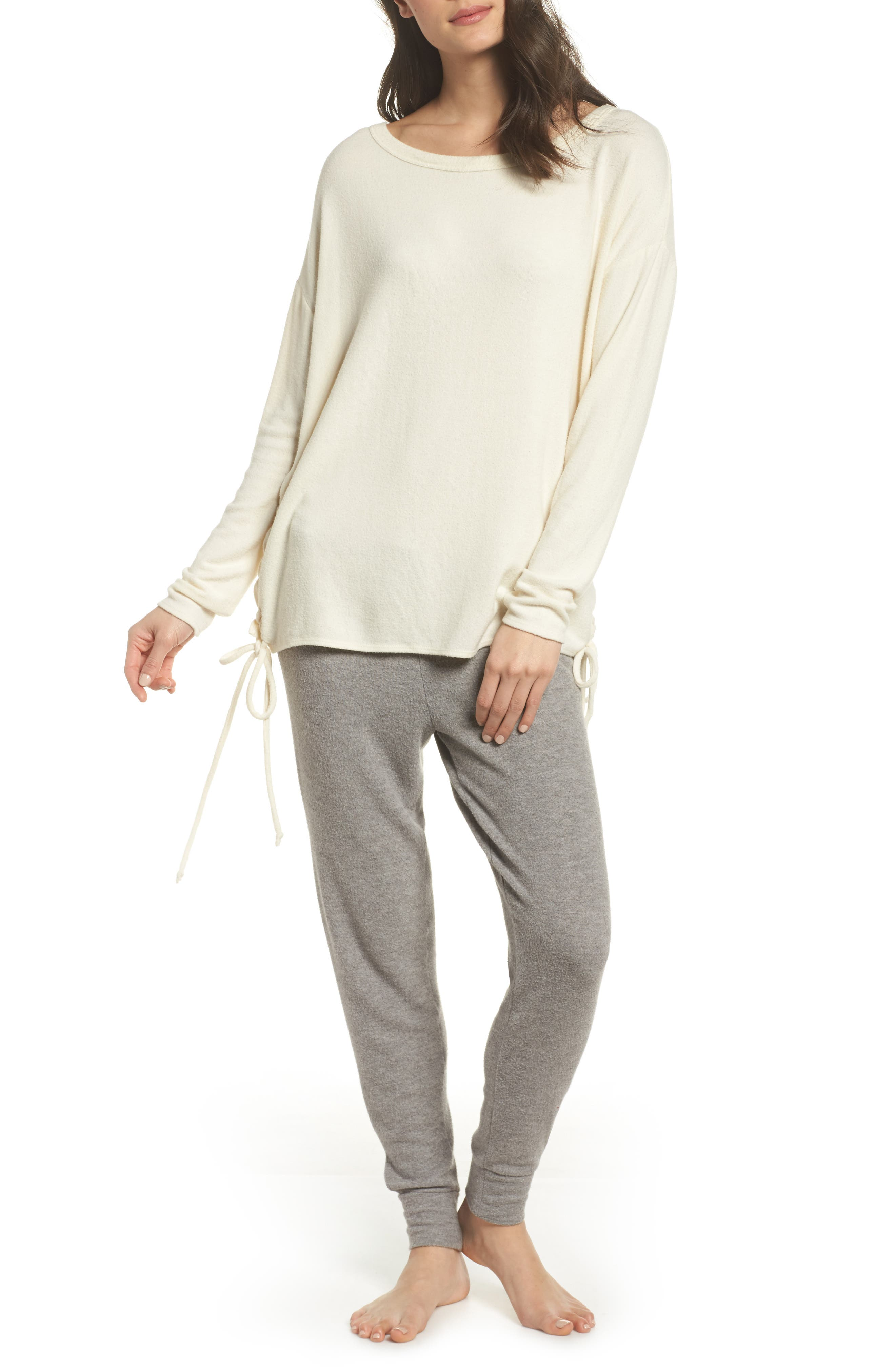 Alternate Image 5  - Chaser Lace-Up Side Pullover