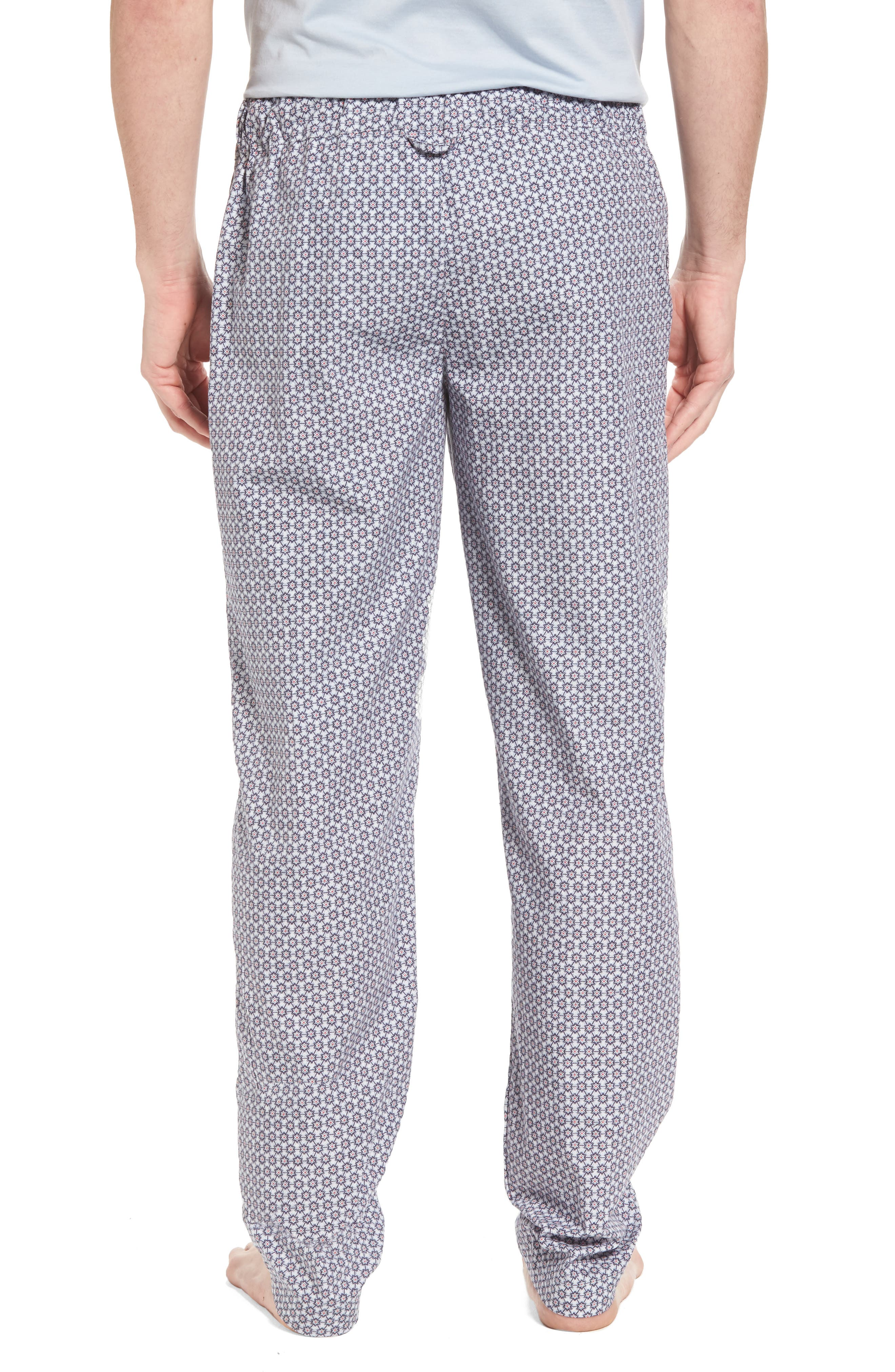 Night & Day Woven Lounge Pants,                             Alternate thumbnail 2, color,                             Classic Flower Print