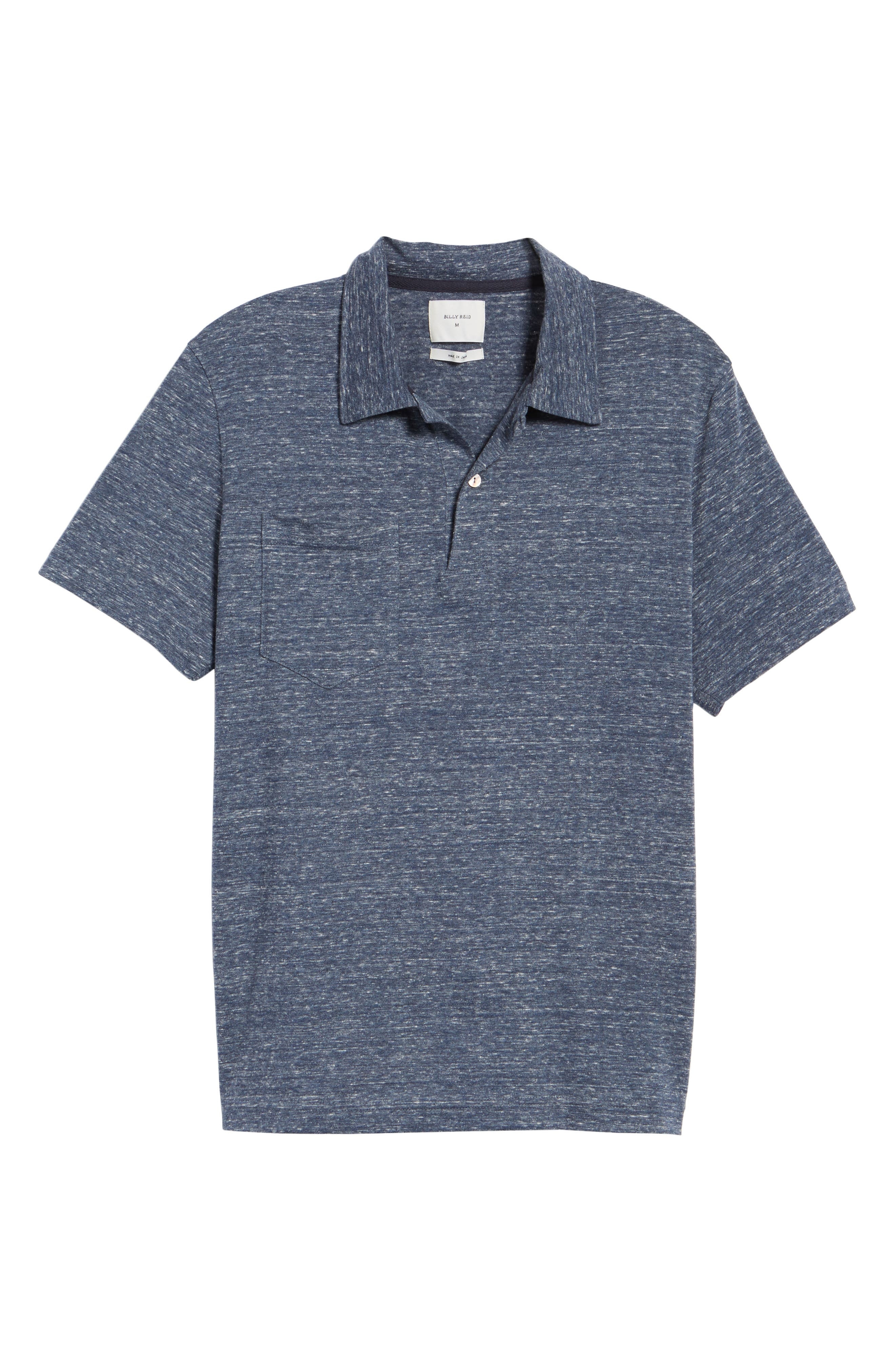 Owen Slim Fit Polo,                             Alternate thumbnail 6, color,                             Blue Mix