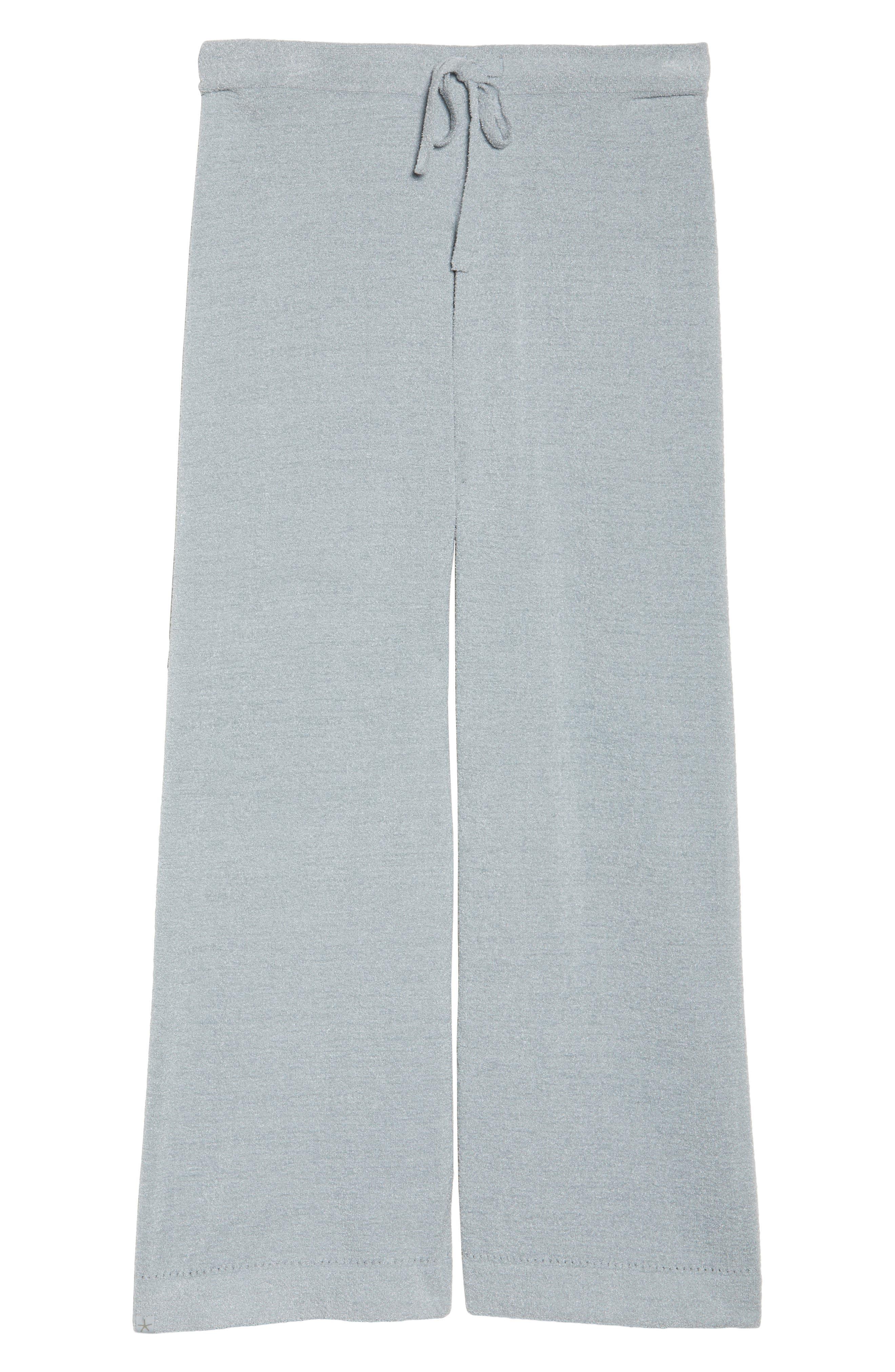 Cozychic Ultra Lite<sup>®</sup> Culotte Lounge Pants,                             Alternate thumbnail 4, color,                             Blue Water
