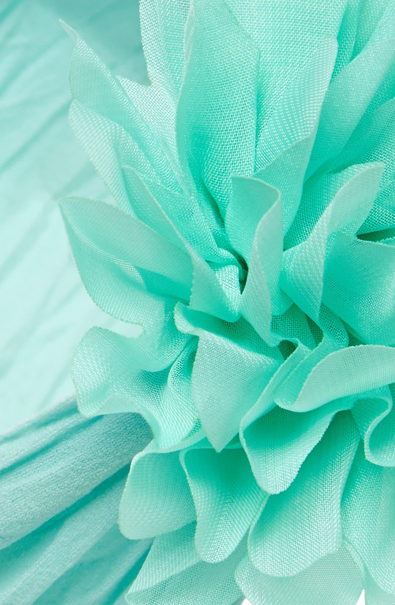 Alternate Image 2  - Baby Bling Flower Headband (Baby Girls)