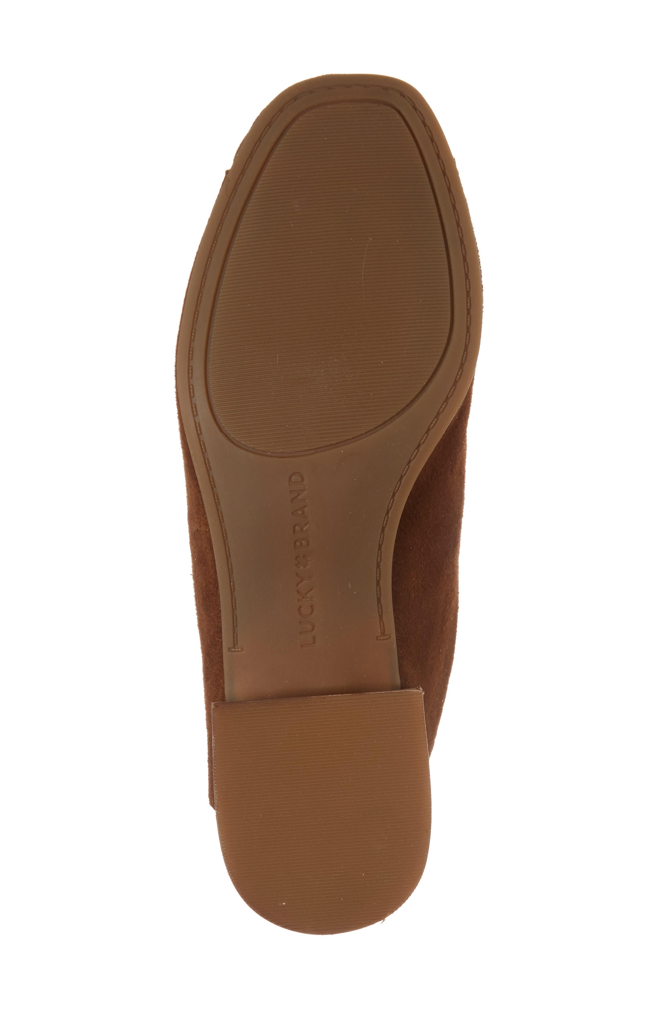 Noomrie Sandal,                             Alternate thumbnail 6, color,                             Cedar Leather