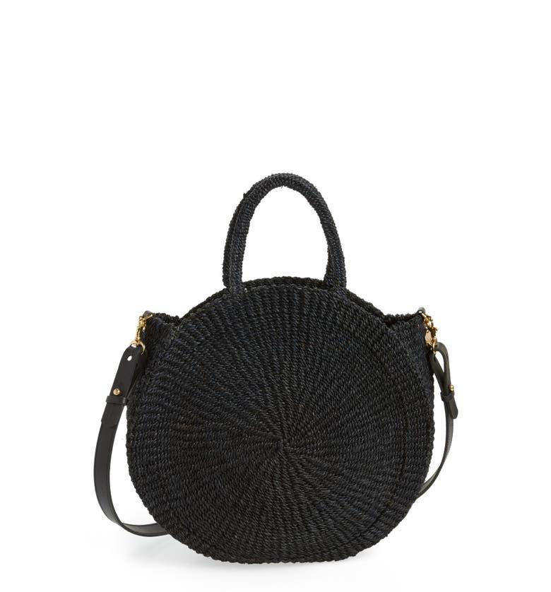 Main Image - Clare V. Alice Woven Sisal Straw Bag