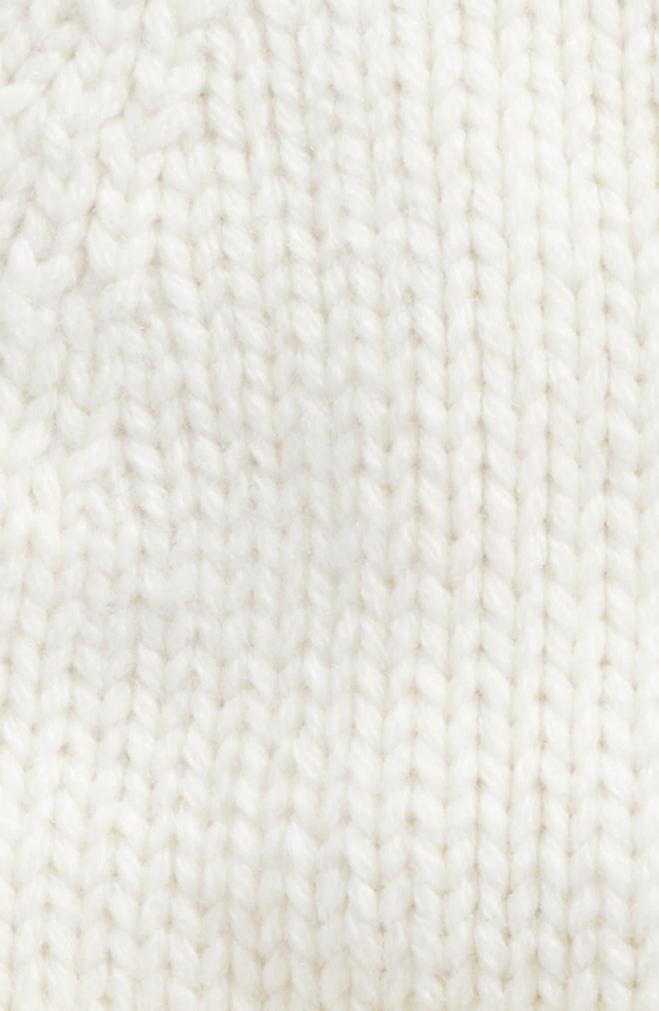 481efed20 Winking Beanie With Pom - White, Cream/ Black
