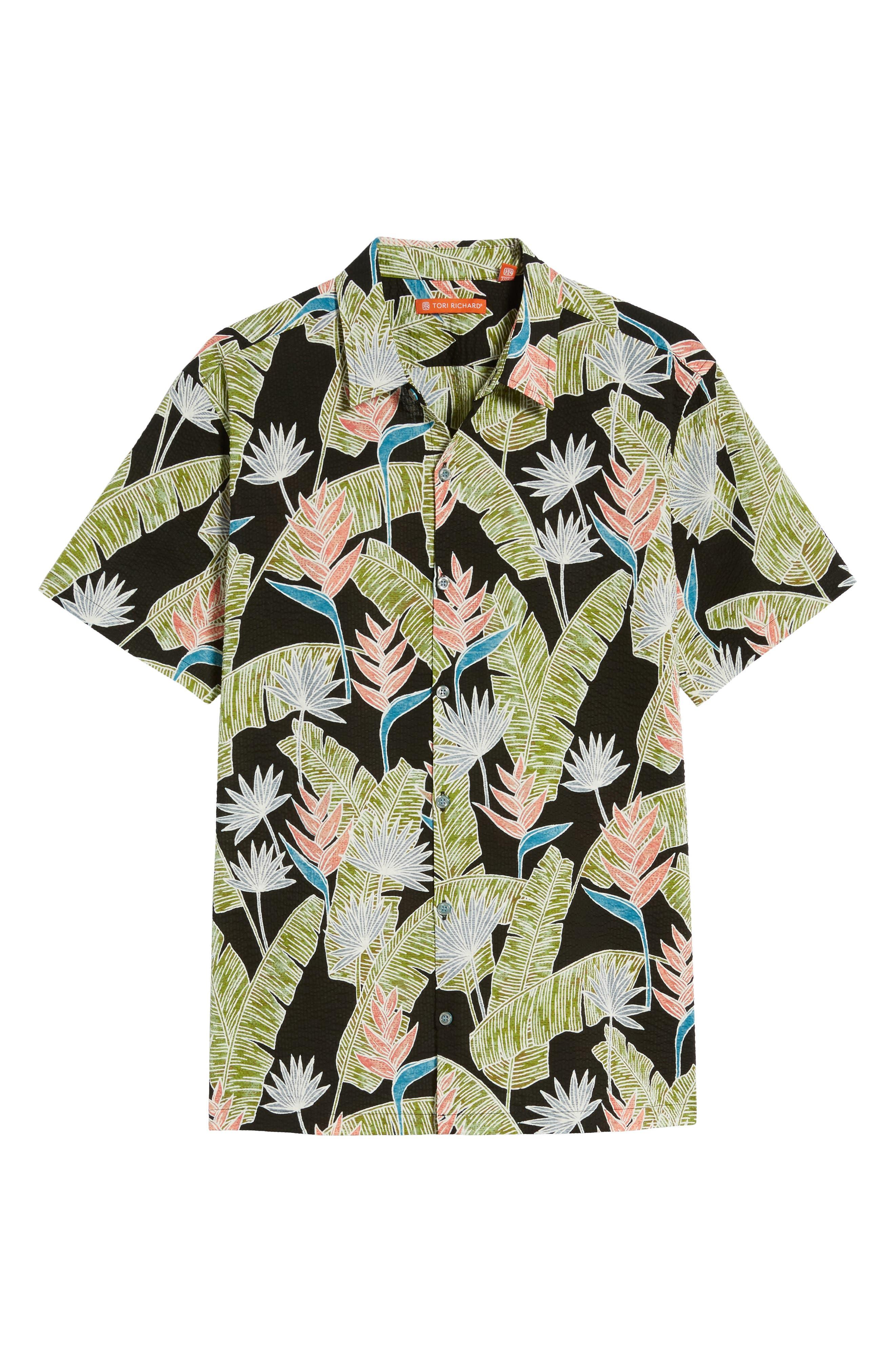 Alternate Image 6  - Tori Richard Sunbird Classic Fit Print Sport Shirt