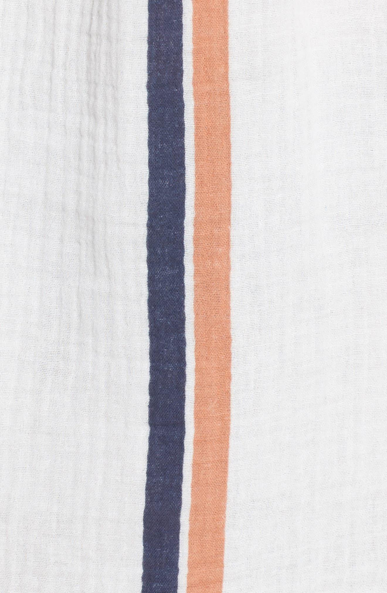Oria Cover-Up Dress,                             Alternate thumbnail 5, color,                             Augustus Desert Clay