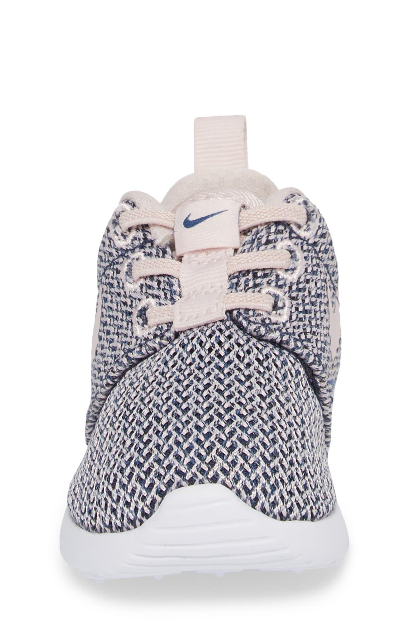 Alternate Image 4  - Nike Roshe Run Sneaker (Baby, Walker & Toddler)