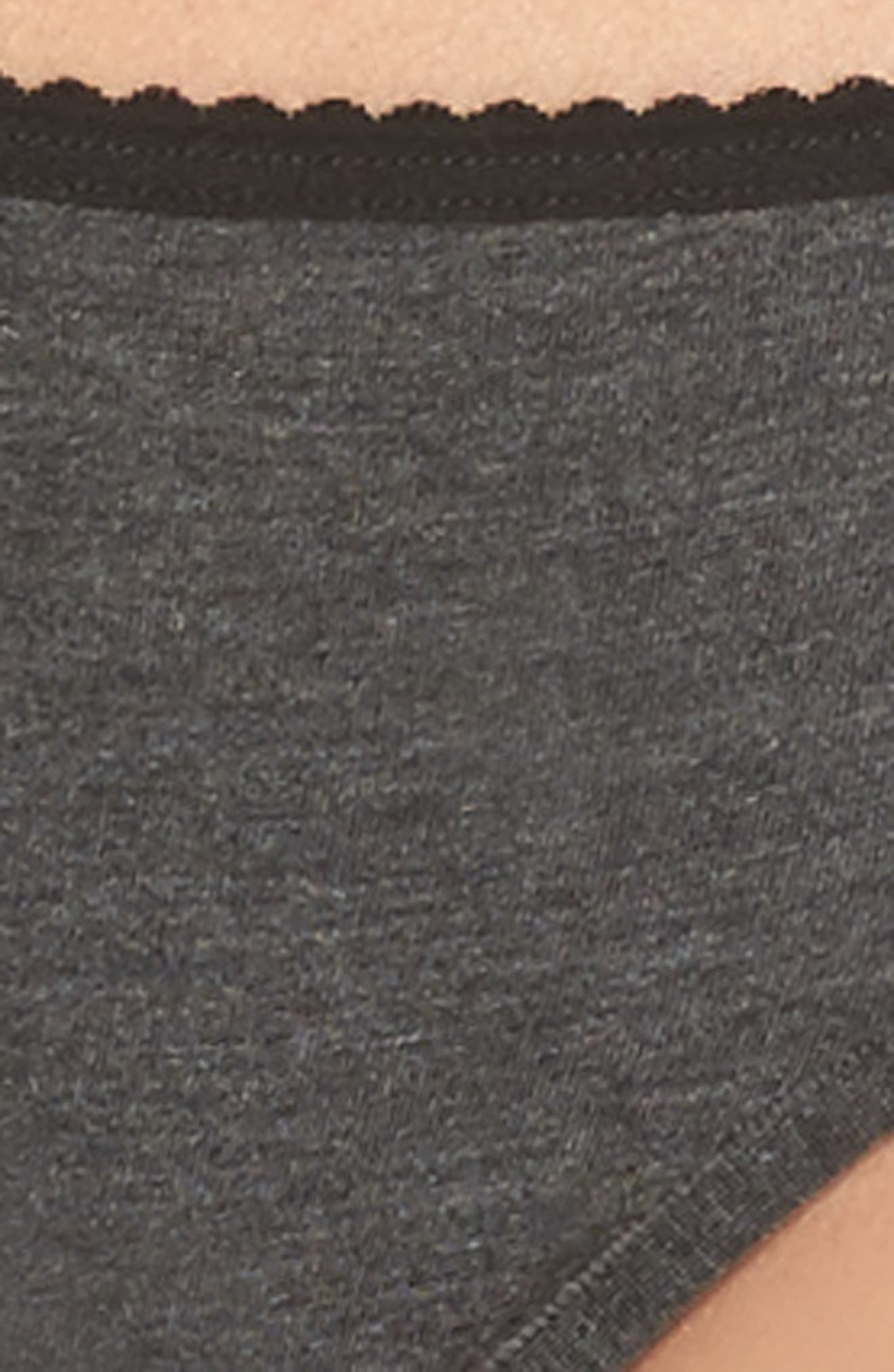 Undressed Thong,                             Alternate thumbnail 8, color,                             Black