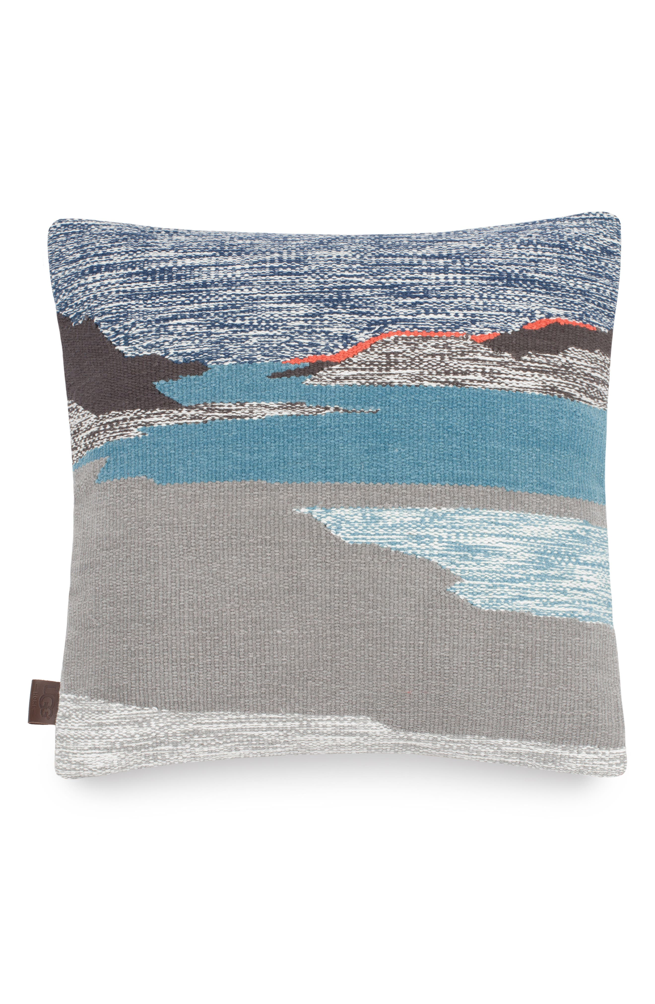 Daydream Landscape Accent Pillow,                             Main thumbnail 1, color,                             Grey Multi