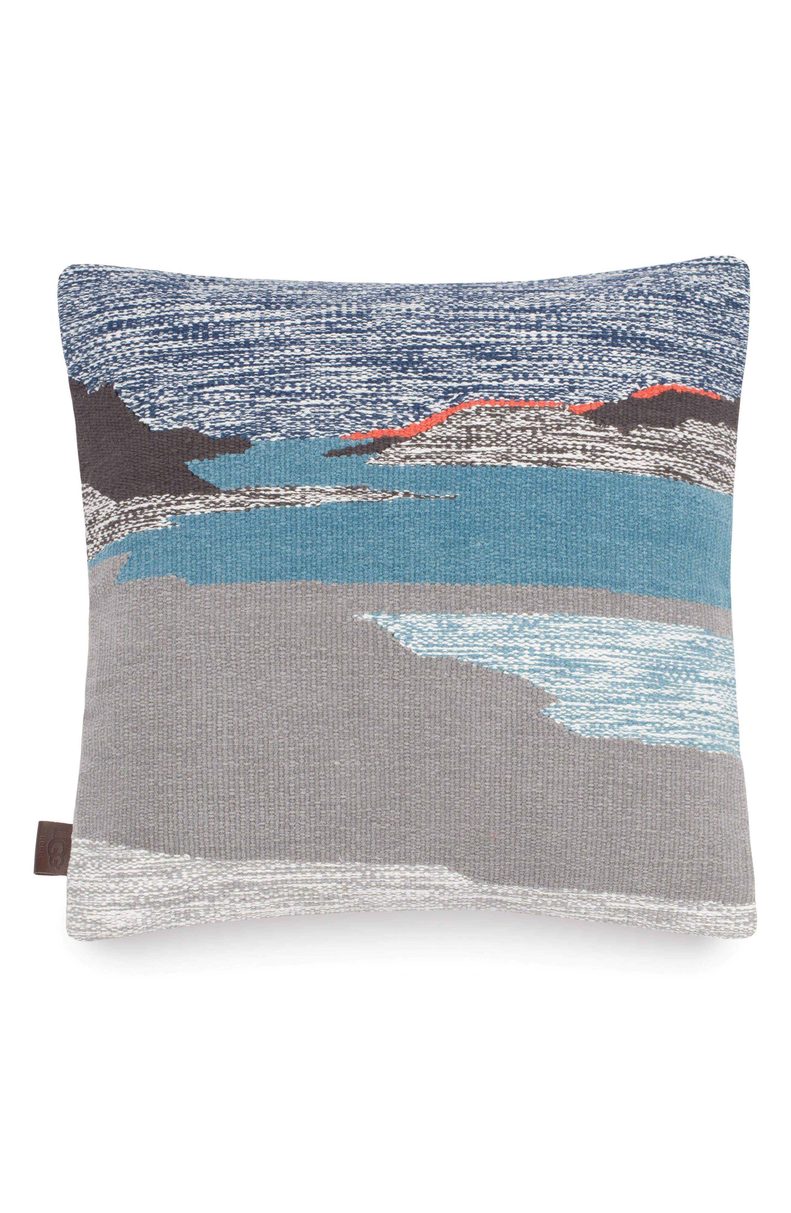 Daydream Landscape Accent Pillow,                         Main,                         color, Grey Multi
