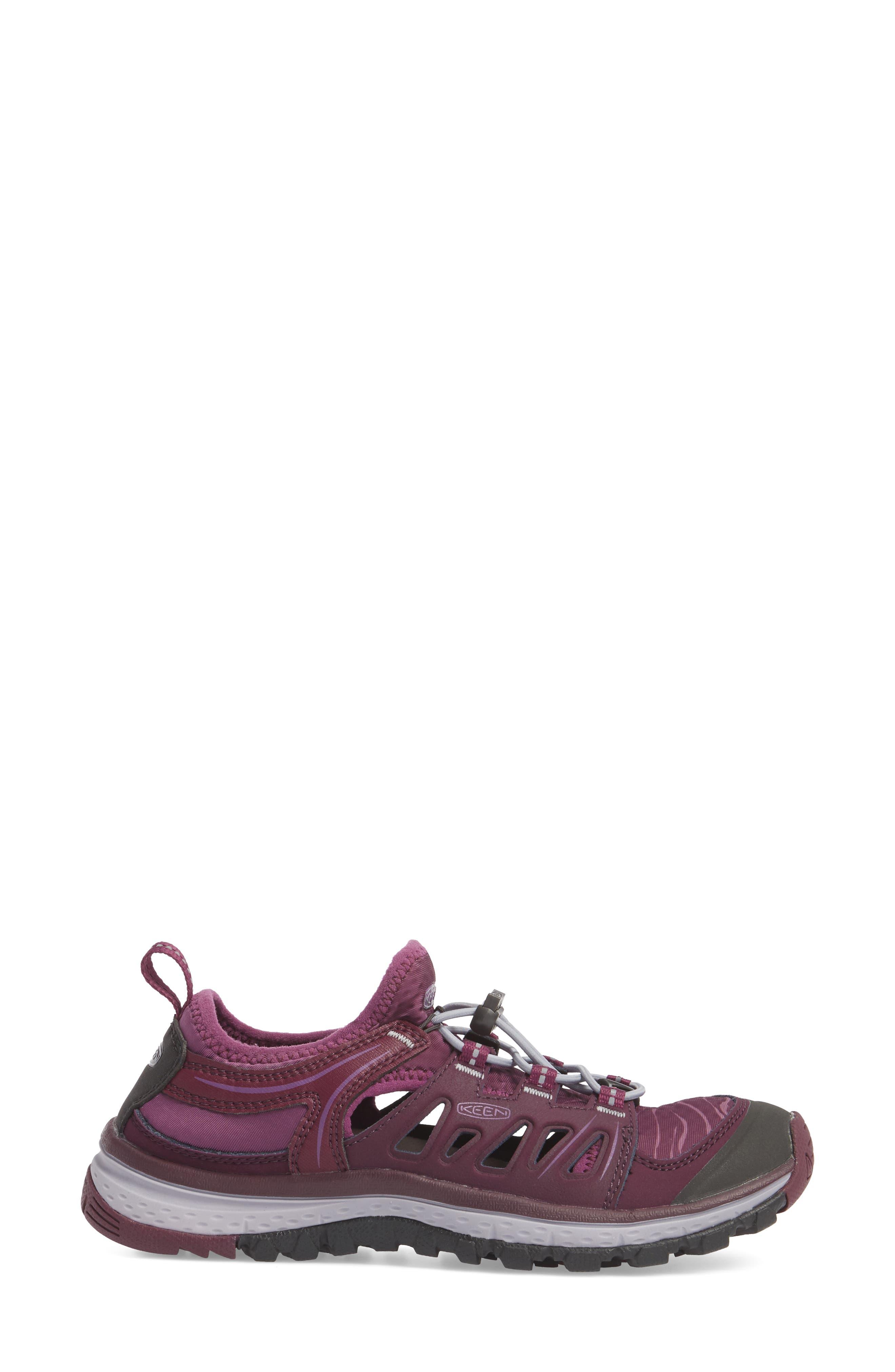 Terradora Ethos Hiking Sneaker,                             Alternate thumbnail 3, color,                             Grape Wine/ Grape Kiss