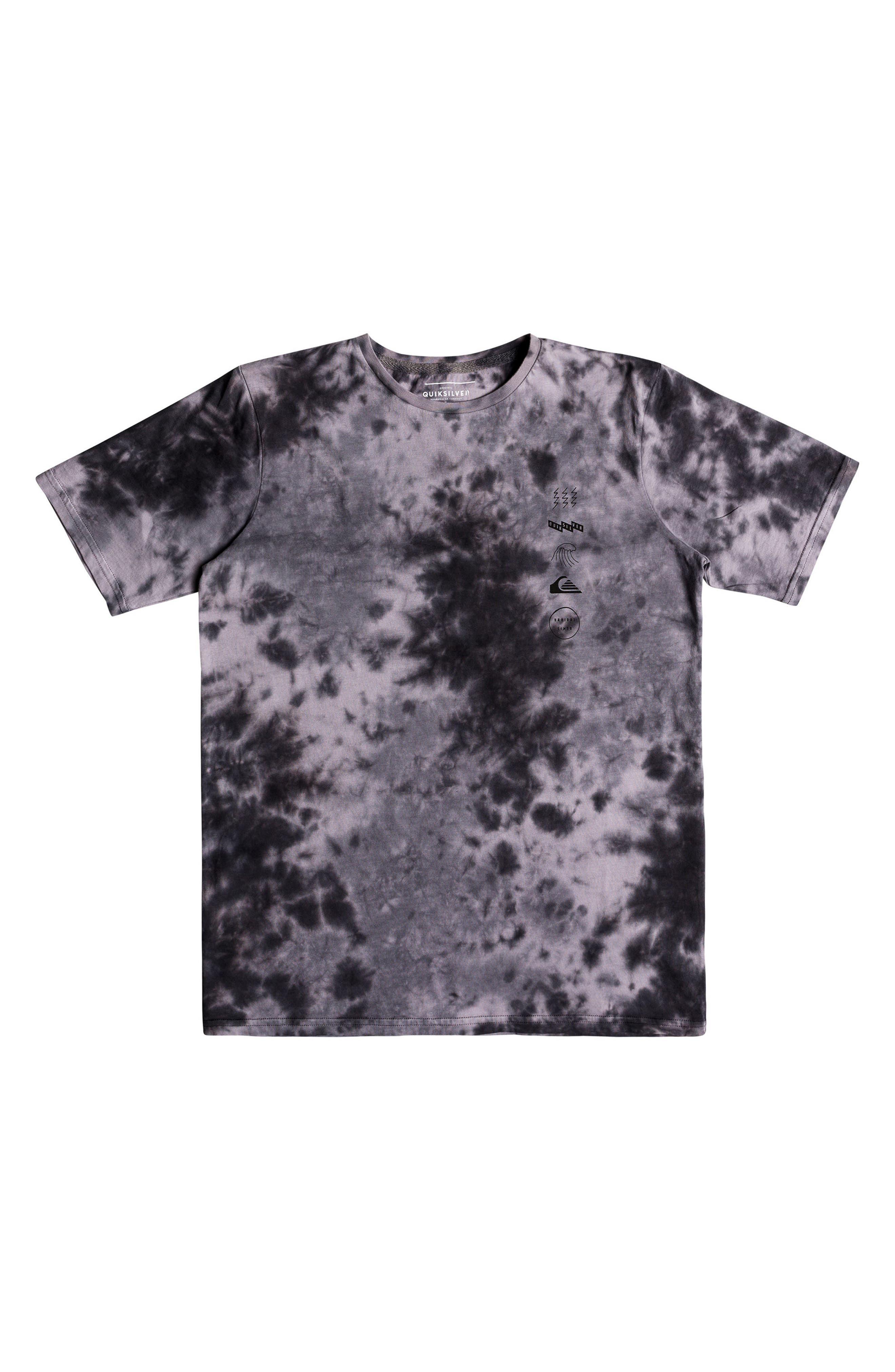 Gibus Moon Graphic T-Shirt,                             Main thumbnail 1, color,                             Iron Gate Tie Dye