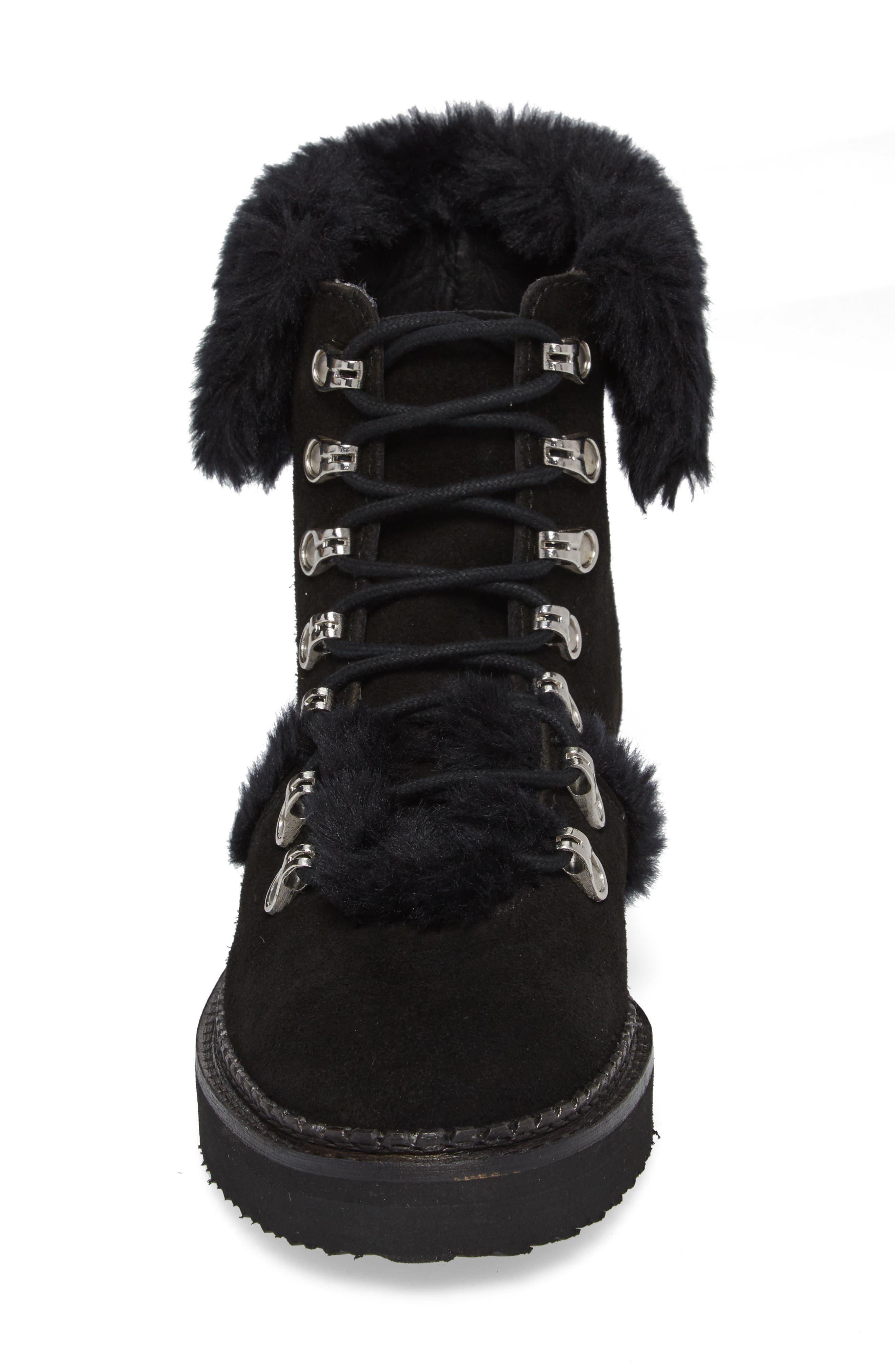 Tonkin Hiker Boot,                             Alternate thumbnail 4, color,                             Black