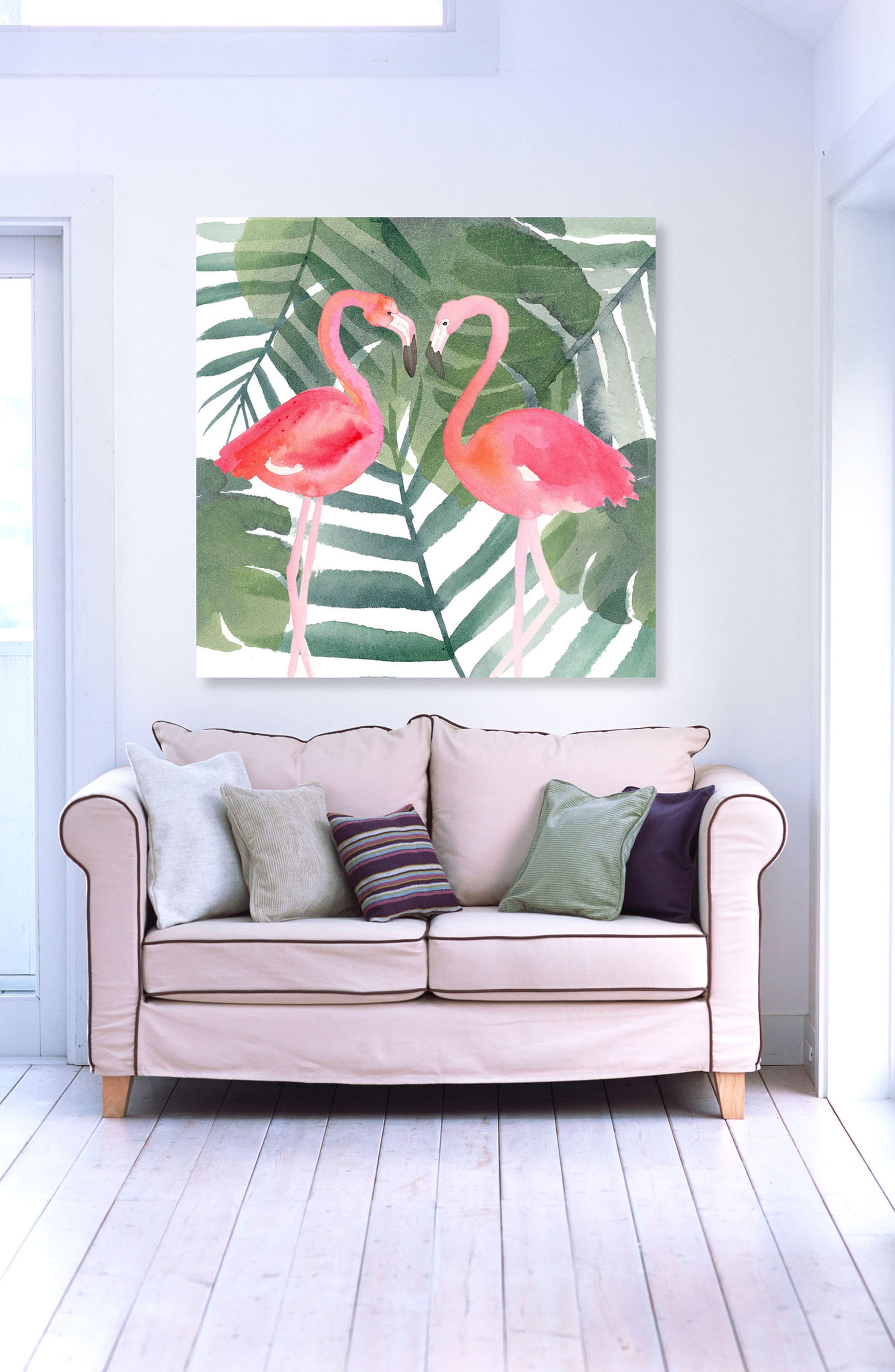 Alternate Image 2  - Oliver Gal Pinkest Love Canvas Wall Art