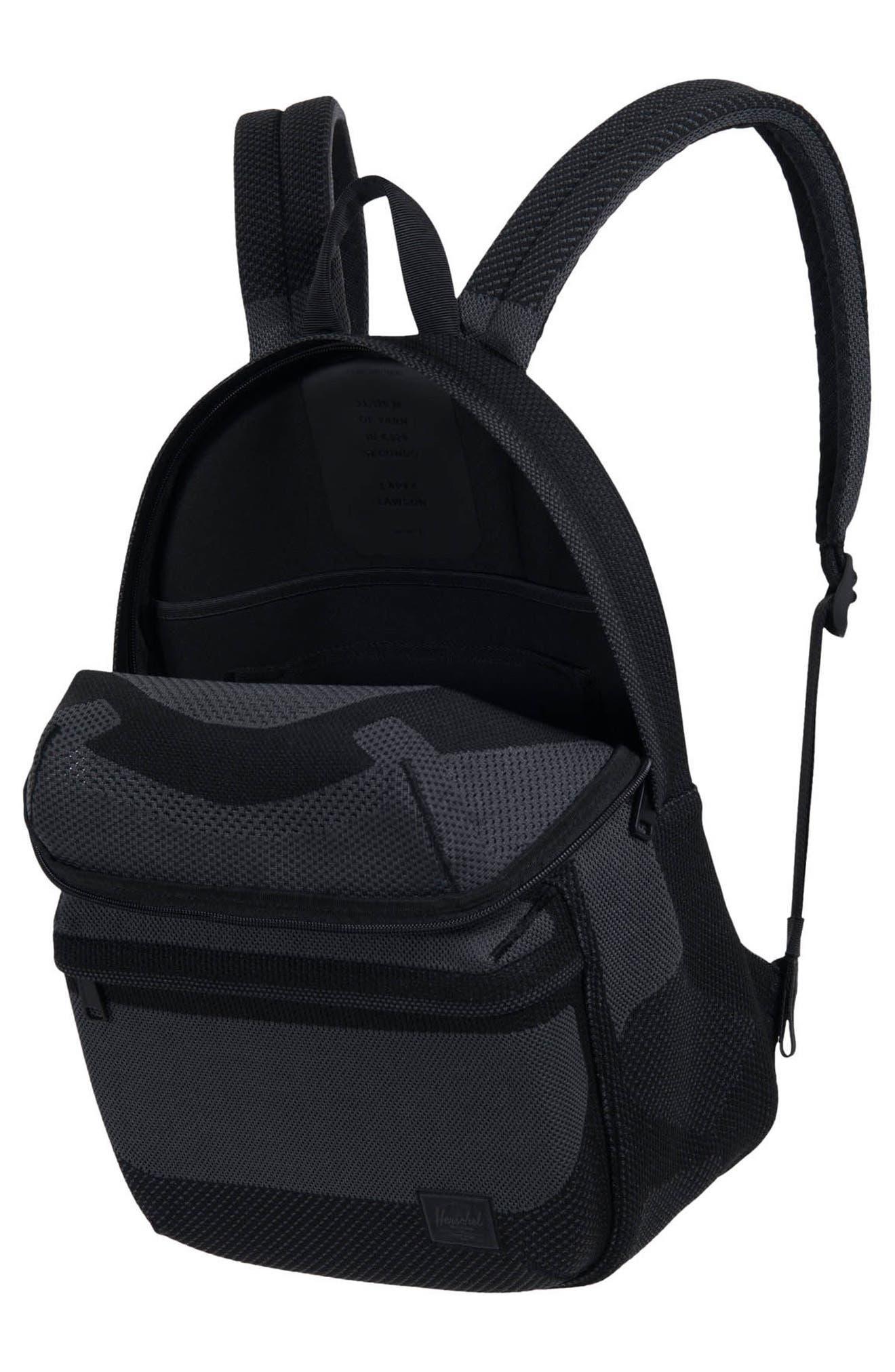 Apex Lawson Backpack,                             Alternate thumbnail 3, color,                             Black Beauty/ Dark Shadow