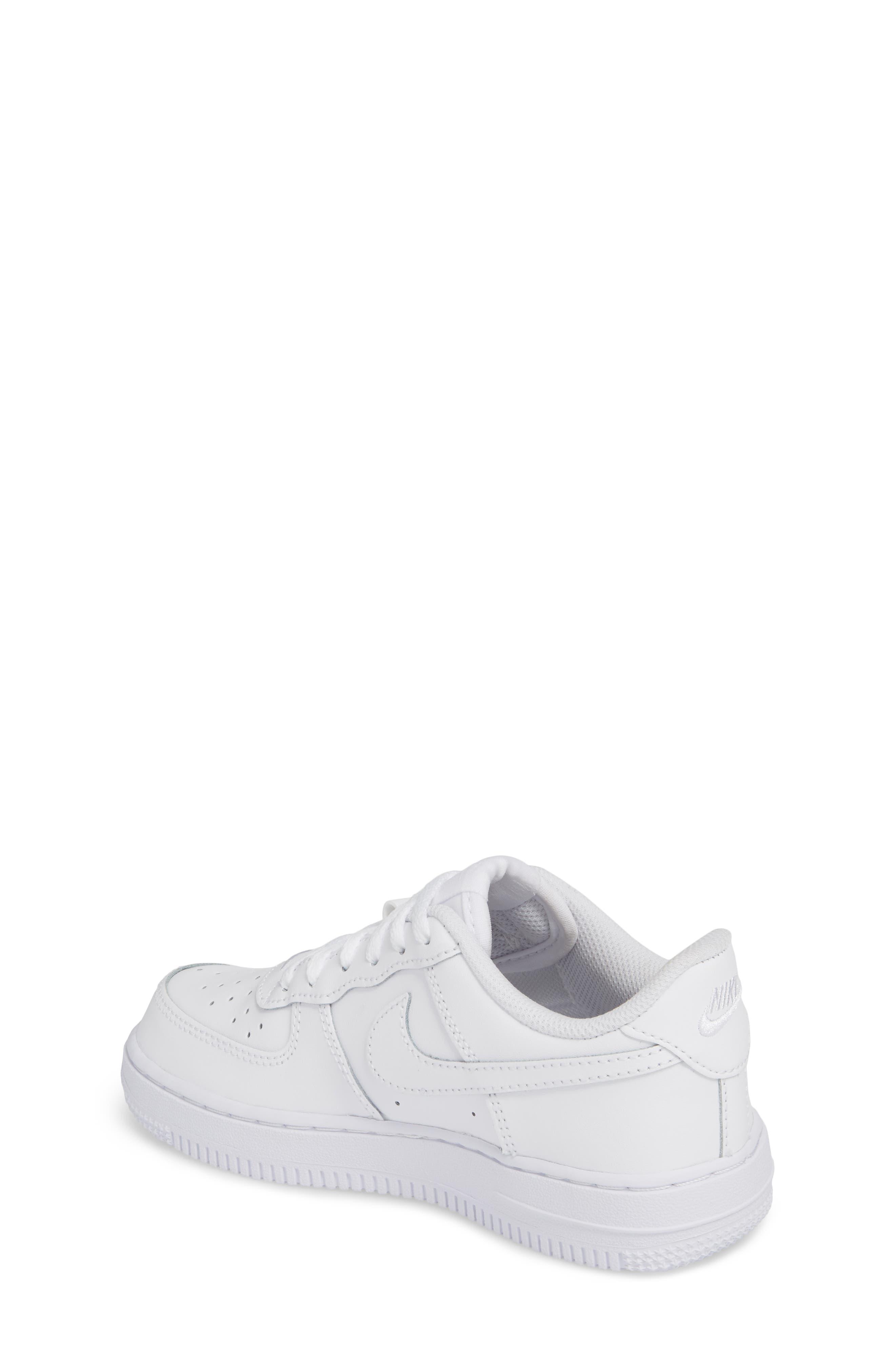 Alternate Image 2  - Nike Air Force 1 Sneaker (Toddler & Little Kid)