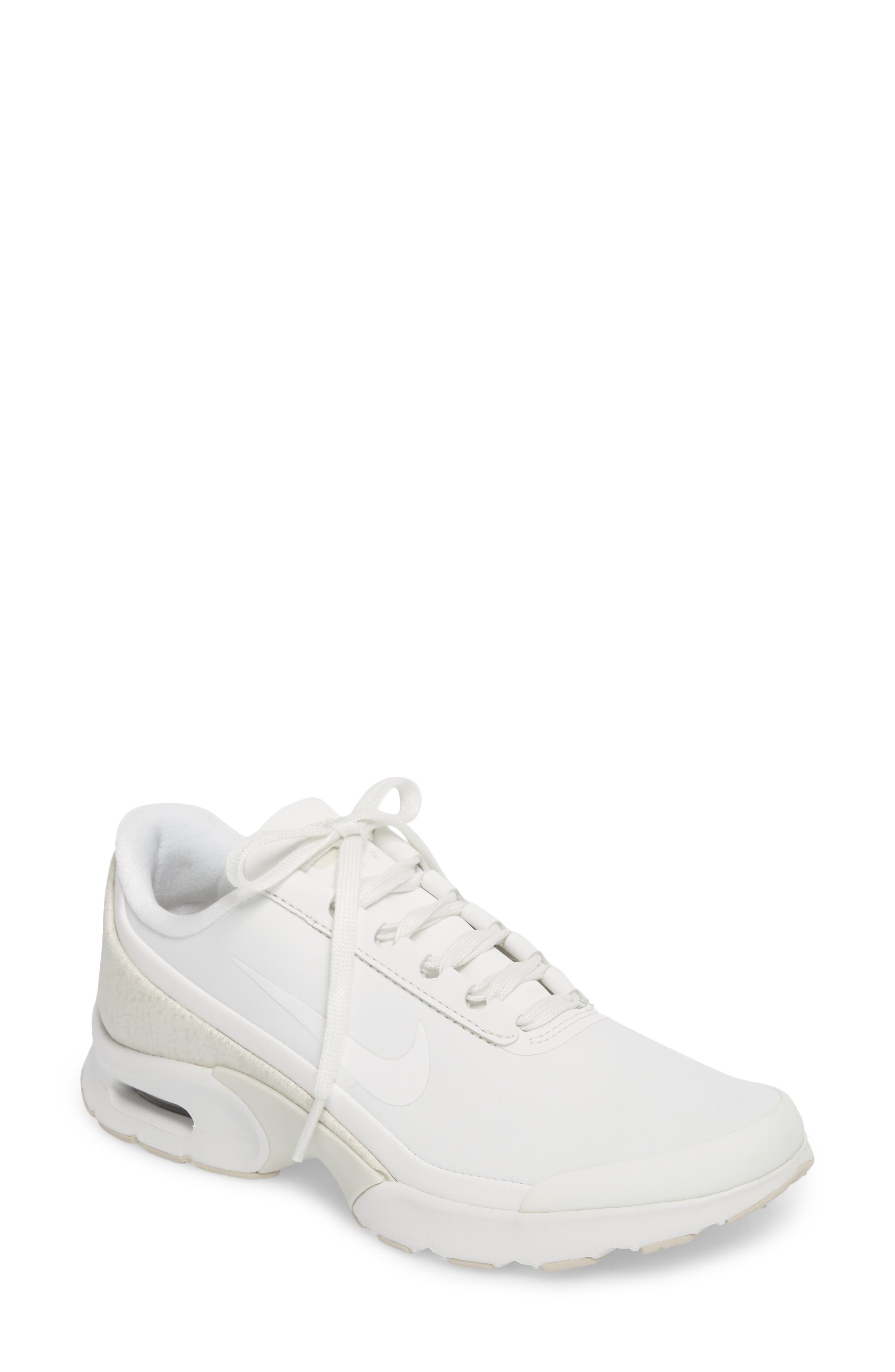 Air Max Jewell Sneaker,                             Main thumbnail 1, color,                             Summit White/ Summit White