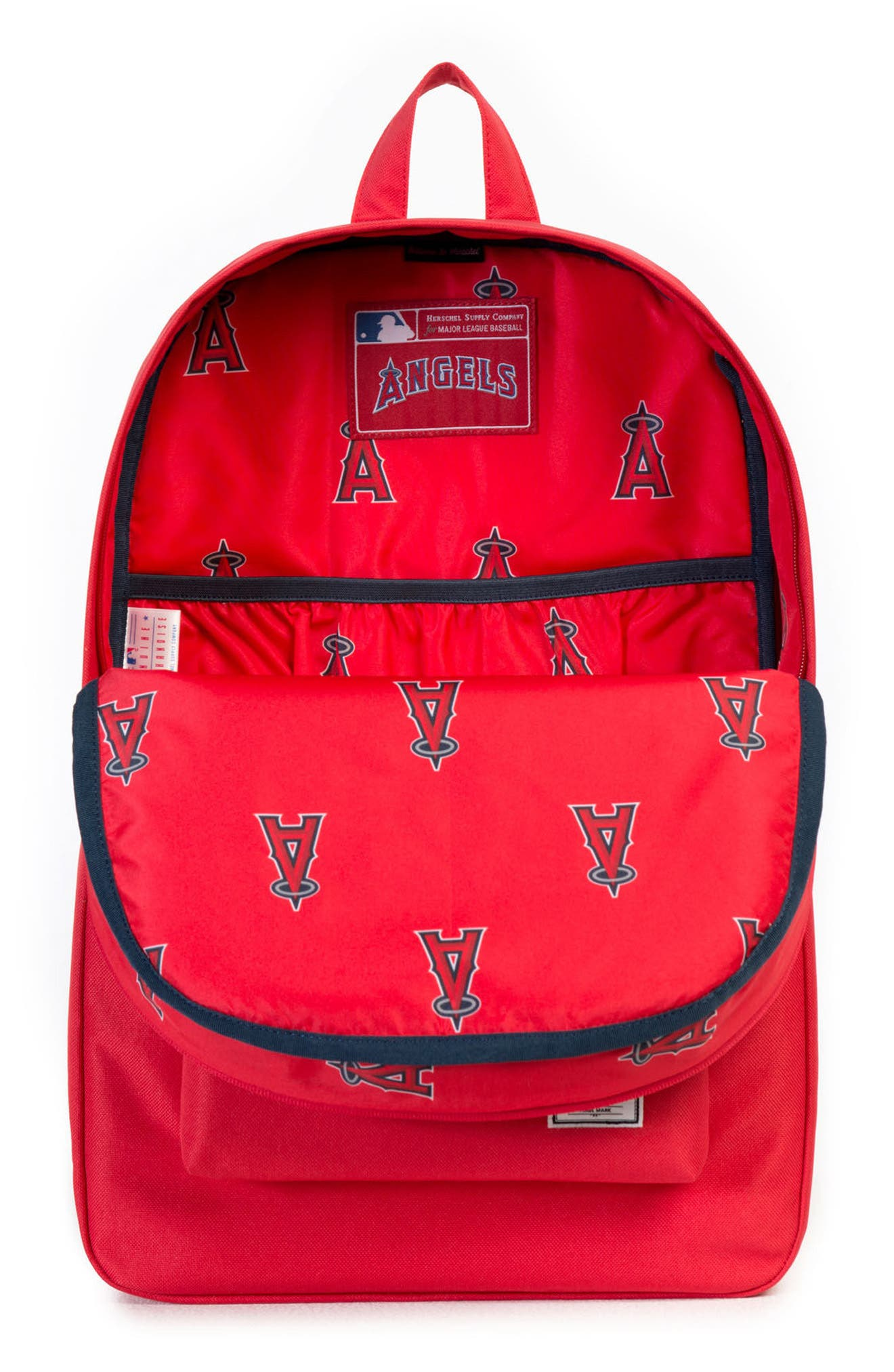 Heritage - MLB American League Backpack,                             Alternate thumbnail 3, color,                             Los Angeles Angels